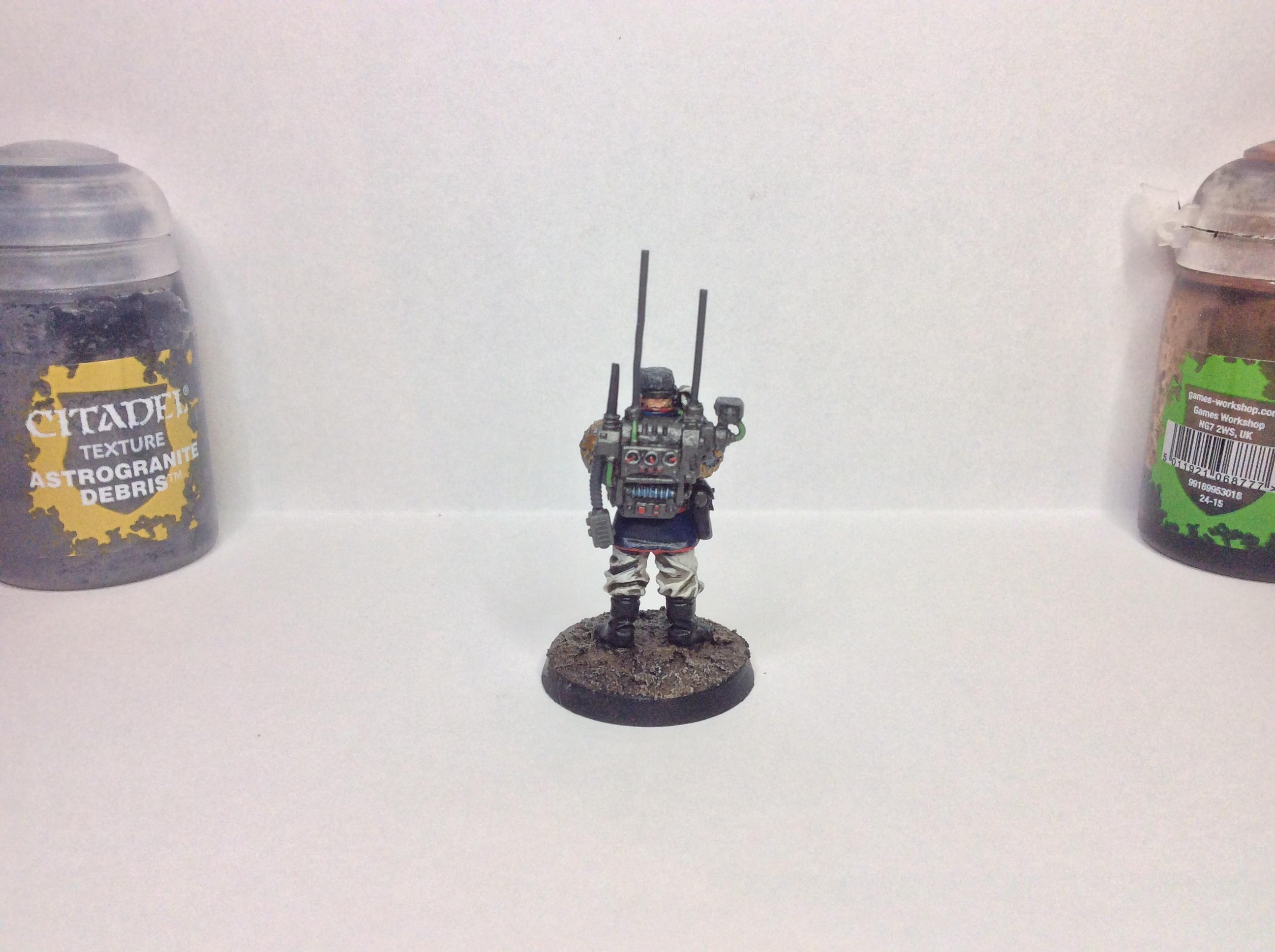 Astra Militarum, Command Squad, Imperial Guard, Warhammer 40,000
