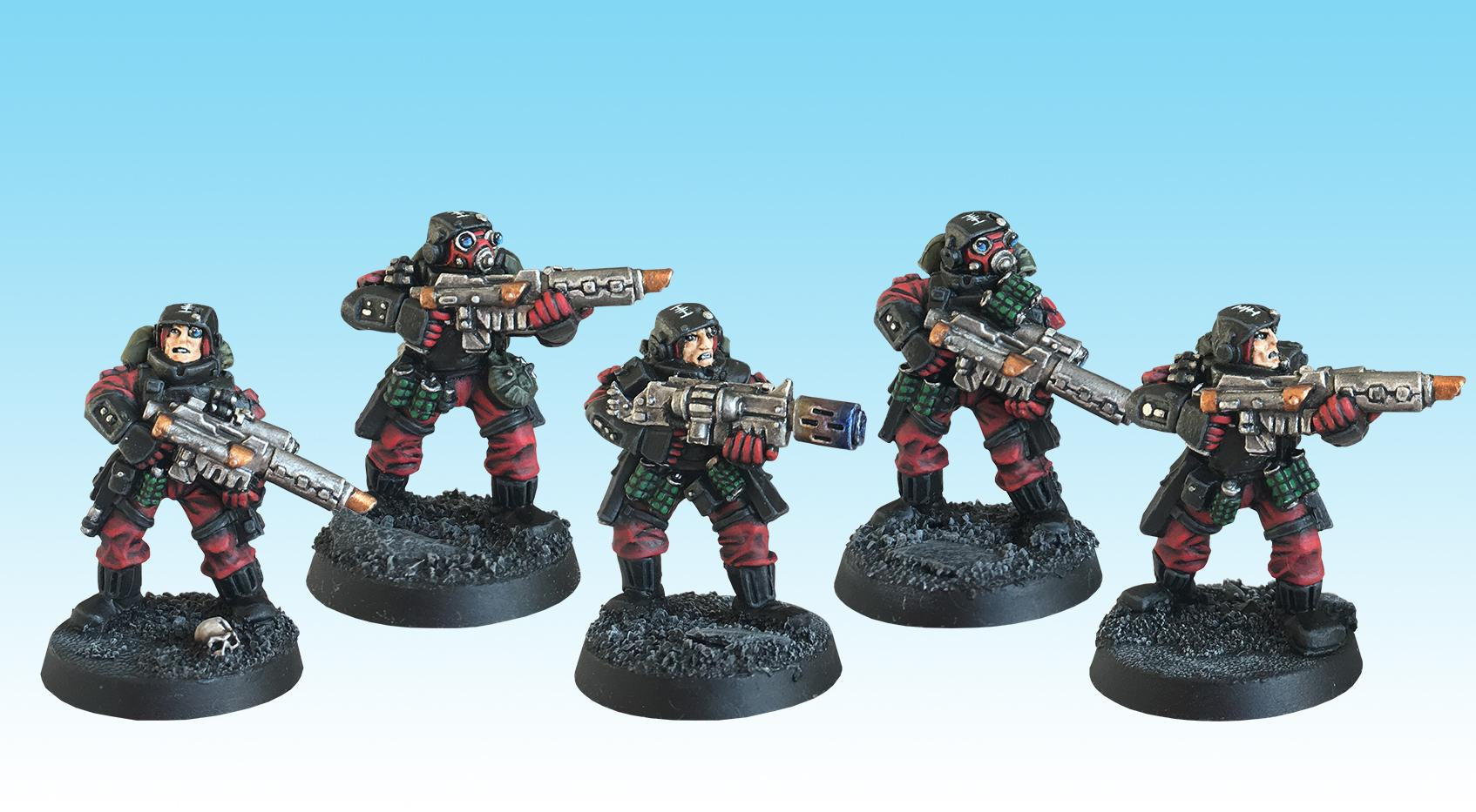 Adepta Sororitas, Inquisition, Inquisitorial, Old Hammer, Order Of Our Martyred Lady, Painted, Sisters Of Battle, Squad, Storm Troopers, Warhammer 40,000