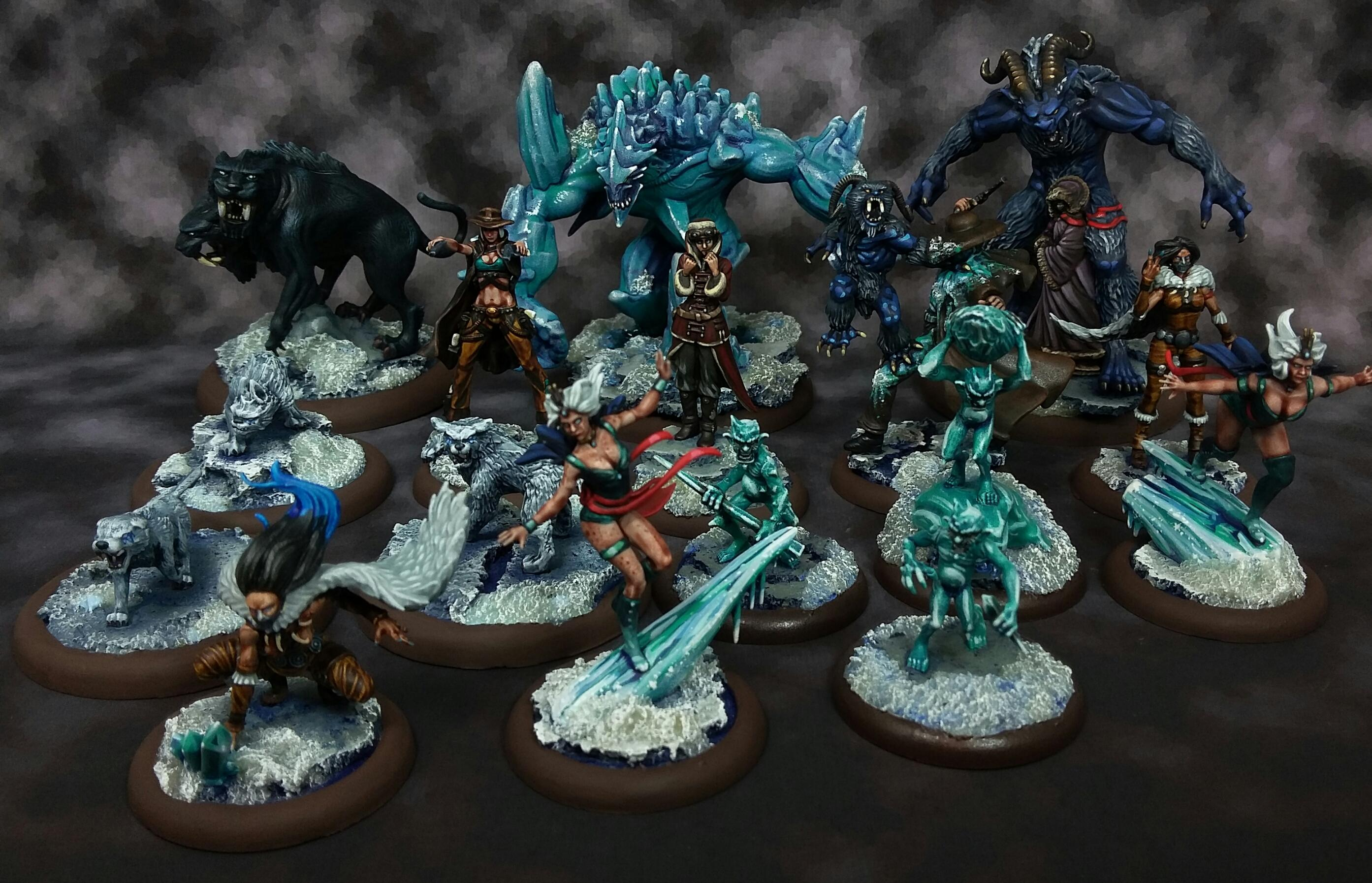 December, Malifaux, Rasputina and Friends