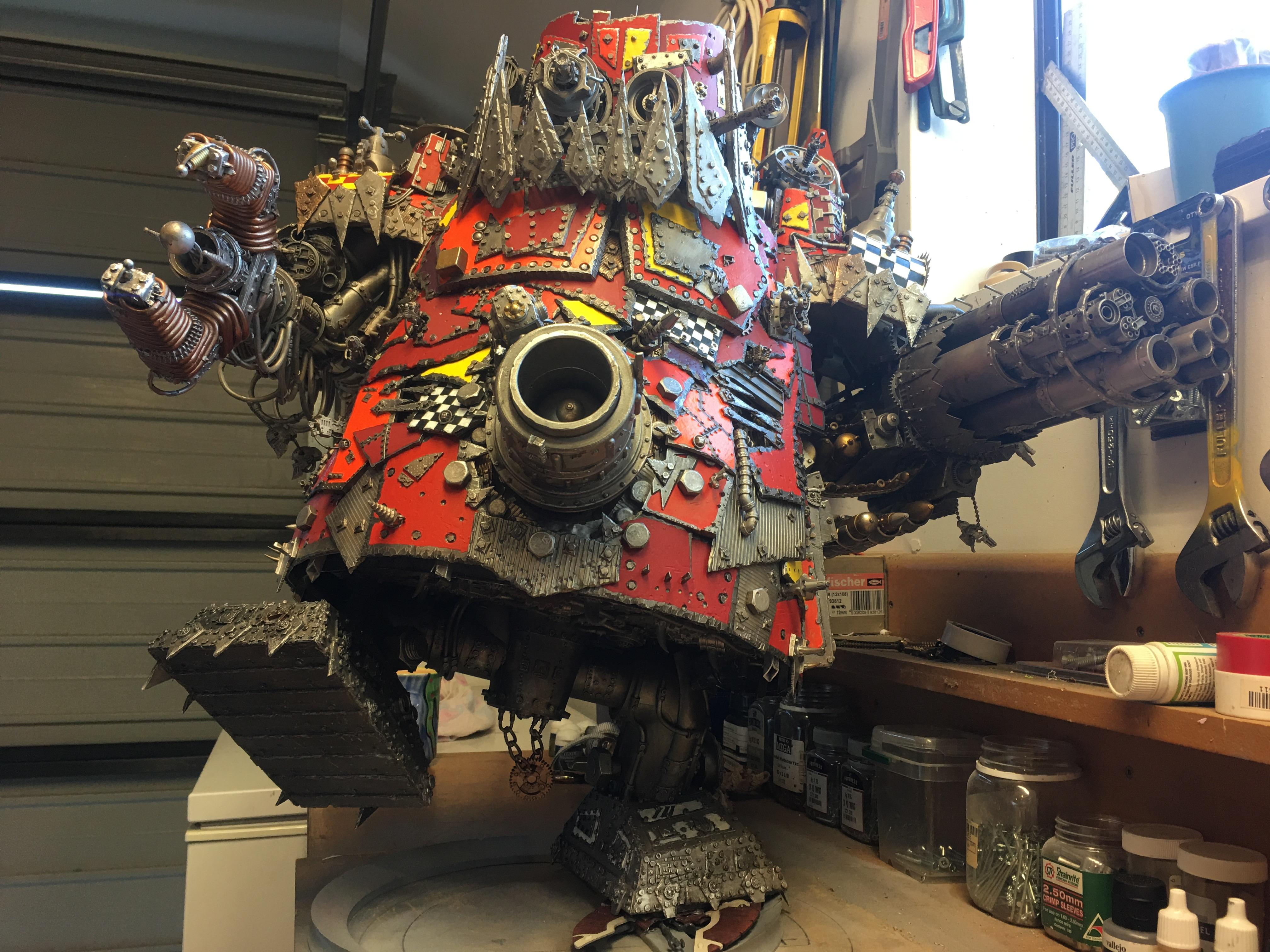 Gargant, Mekboy, Orks, Scratch Build, Stompa, Titan