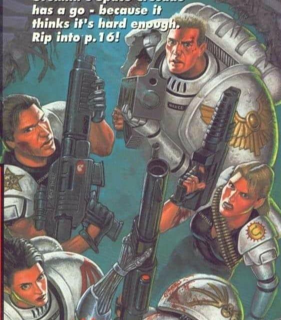 Artwork, Female, Space Crusade, Space Marines