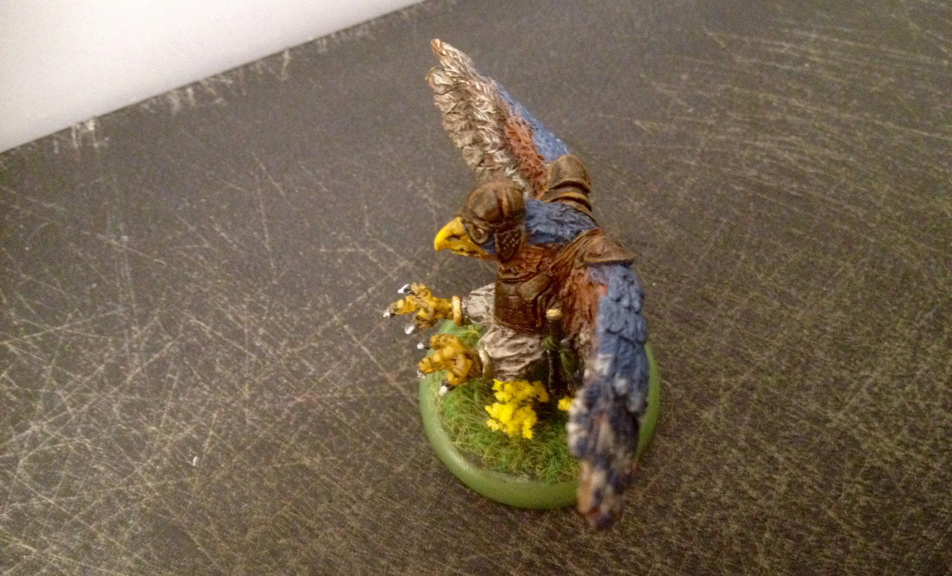 Burrows And Badgers, Flyer, Greenstuff, Medium, Raptors, Sculpting, Sparrowhawk