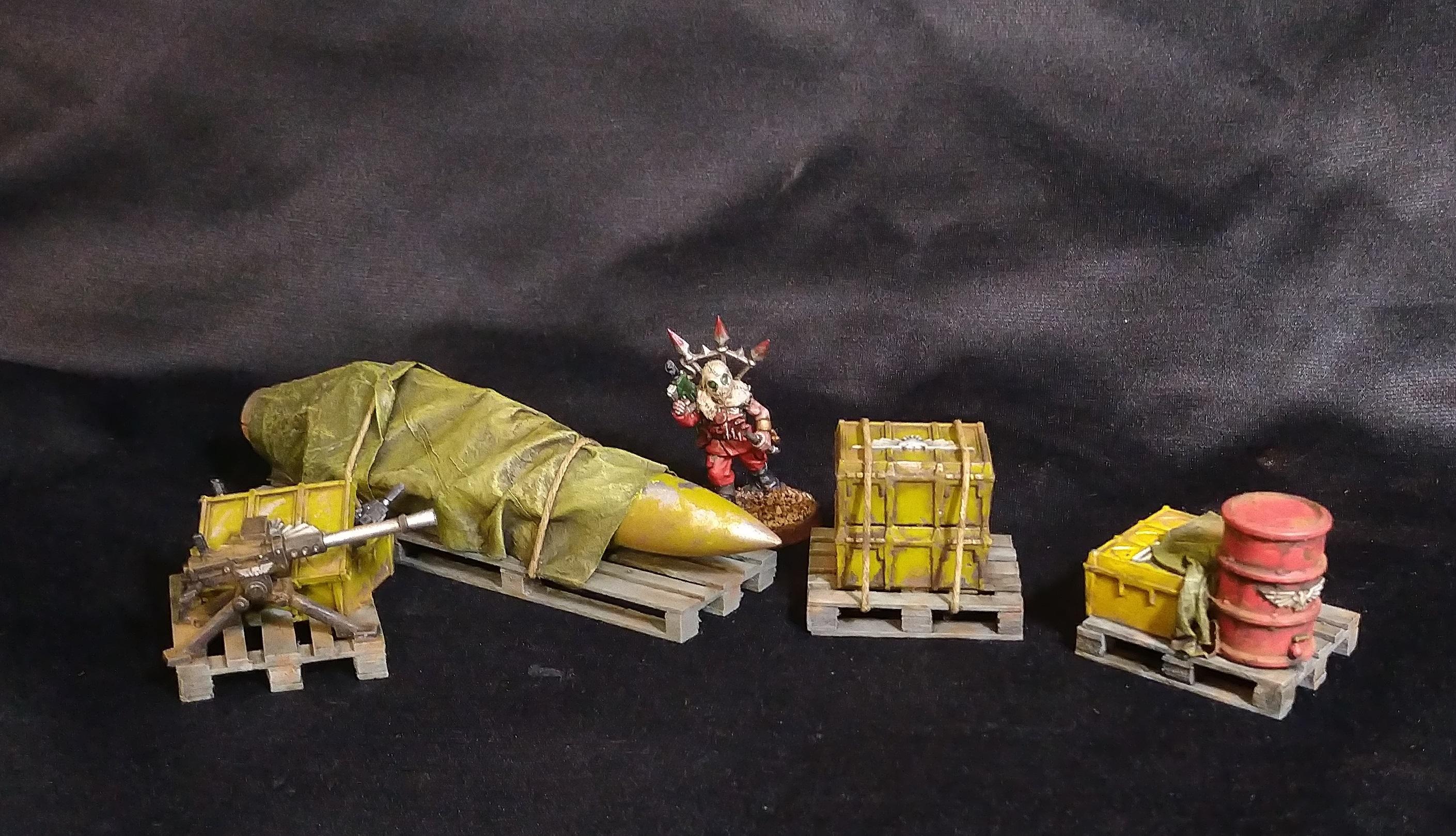 Container, Crates, Terrain, Warhammer 40,000