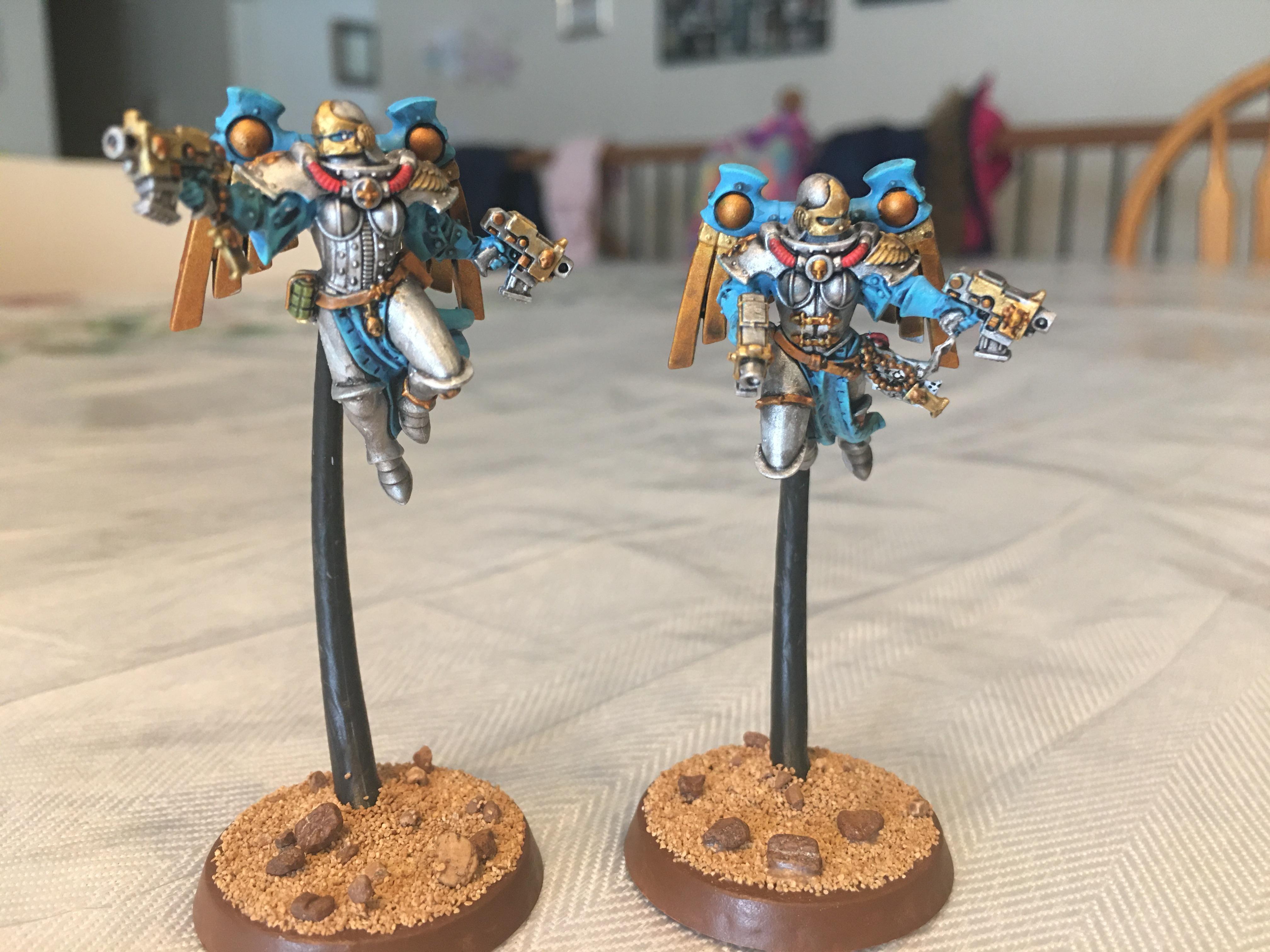 Ministorum, Seraphim, Sisters Of Battle, Sororitas