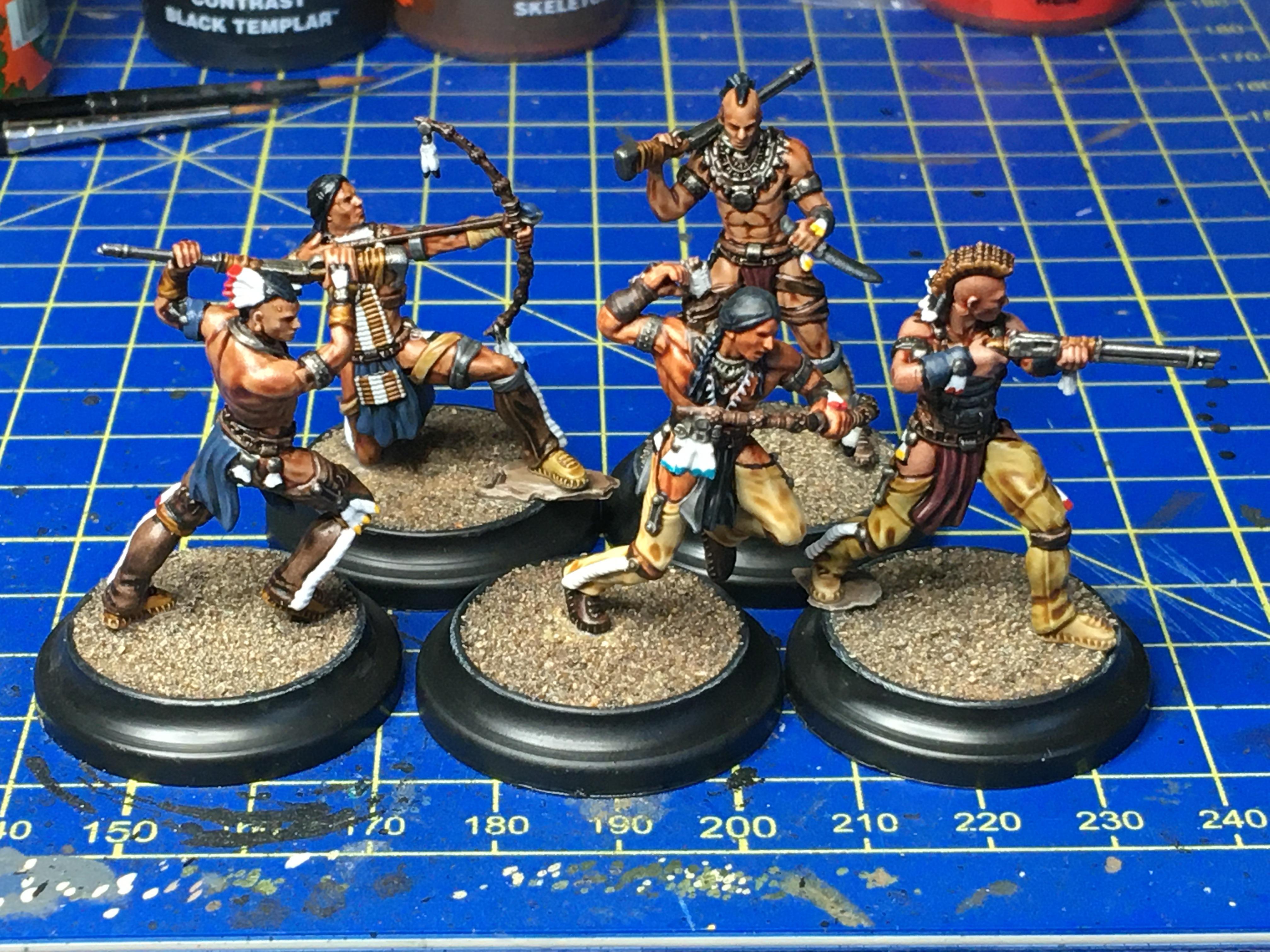 Plains Stalkers, Warrior Nation, Wild West Exodus, Wwe