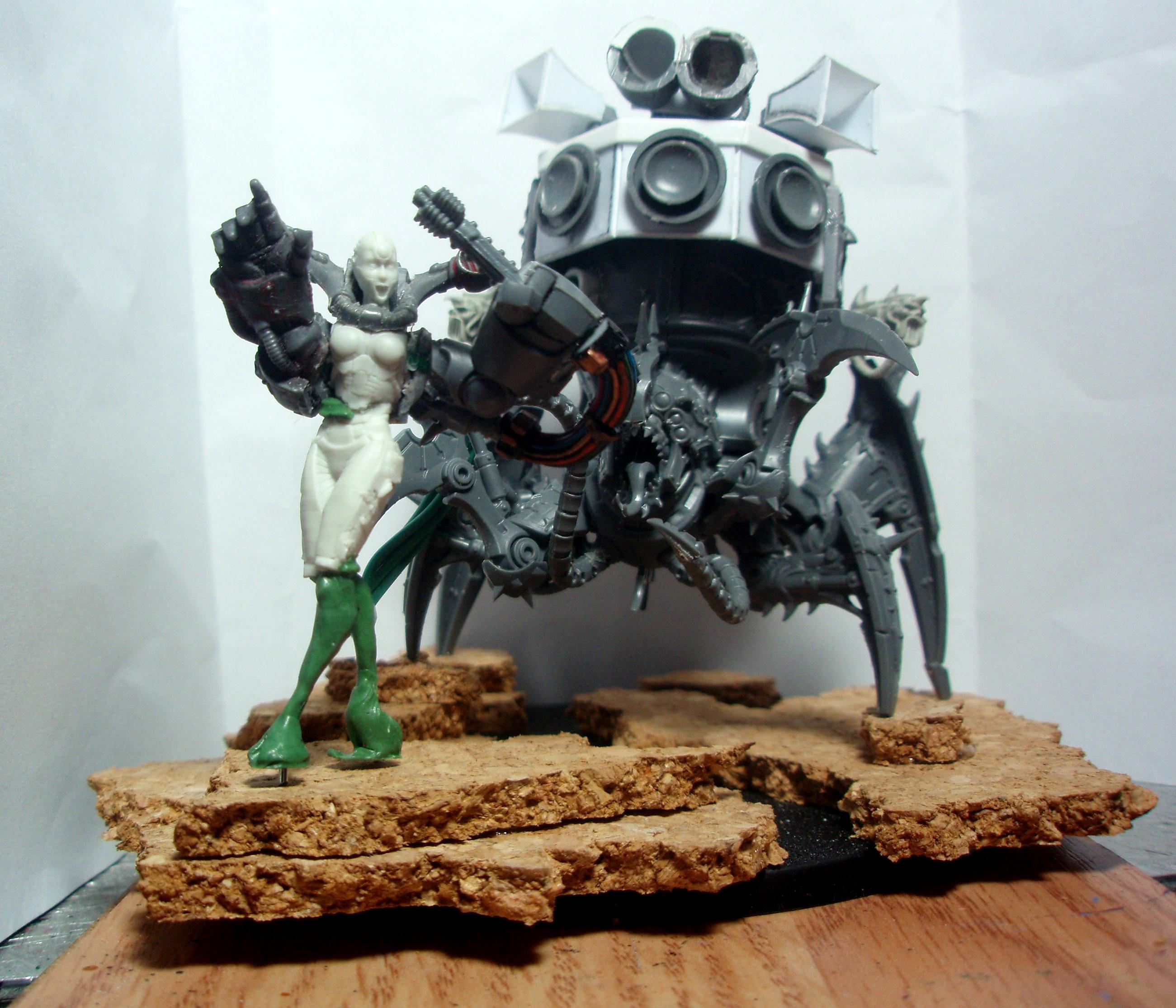 Conversion, Noise Marines, Rock Singer, Slaanesh, Venom Crawler