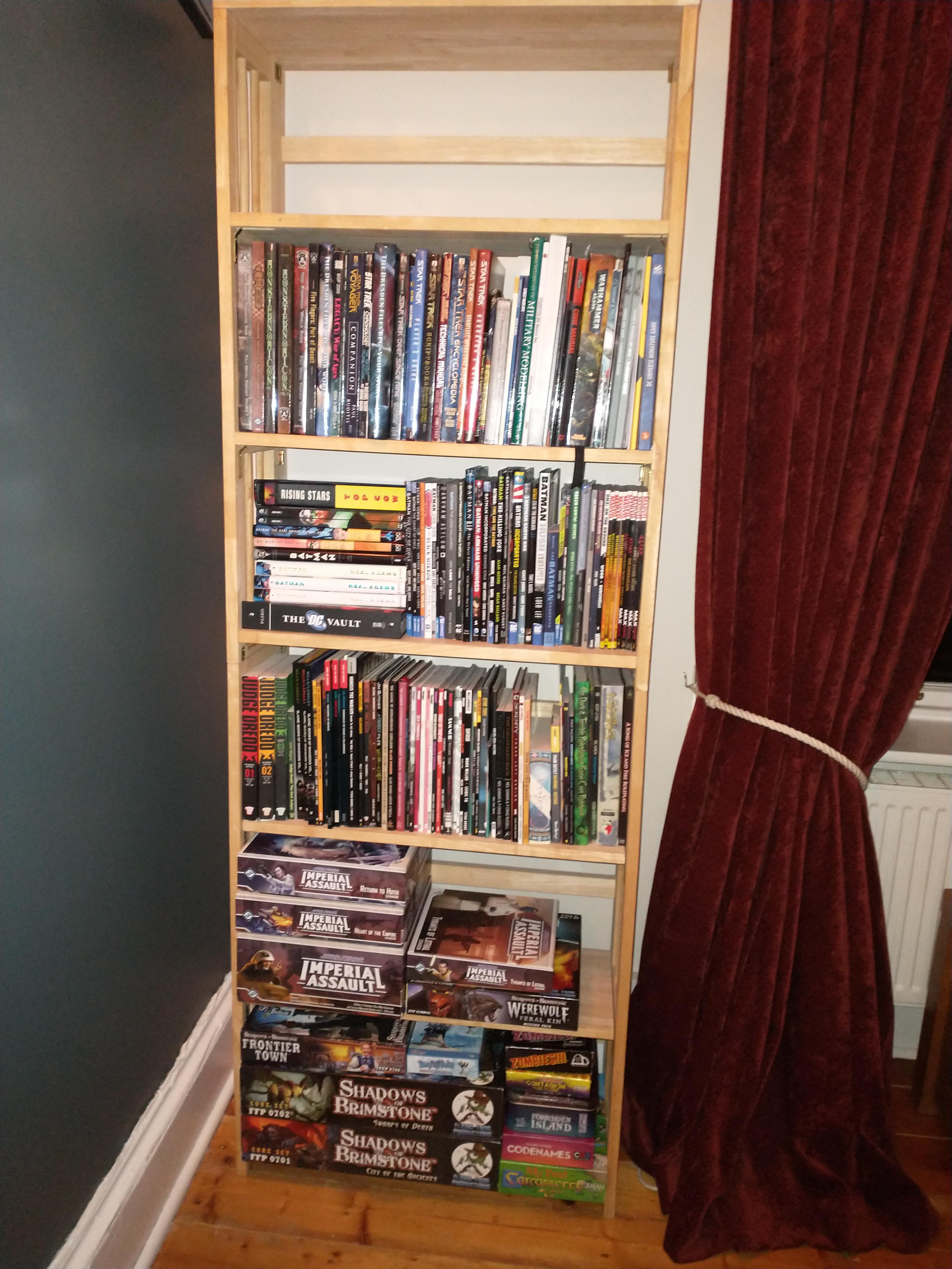 Shelf geek