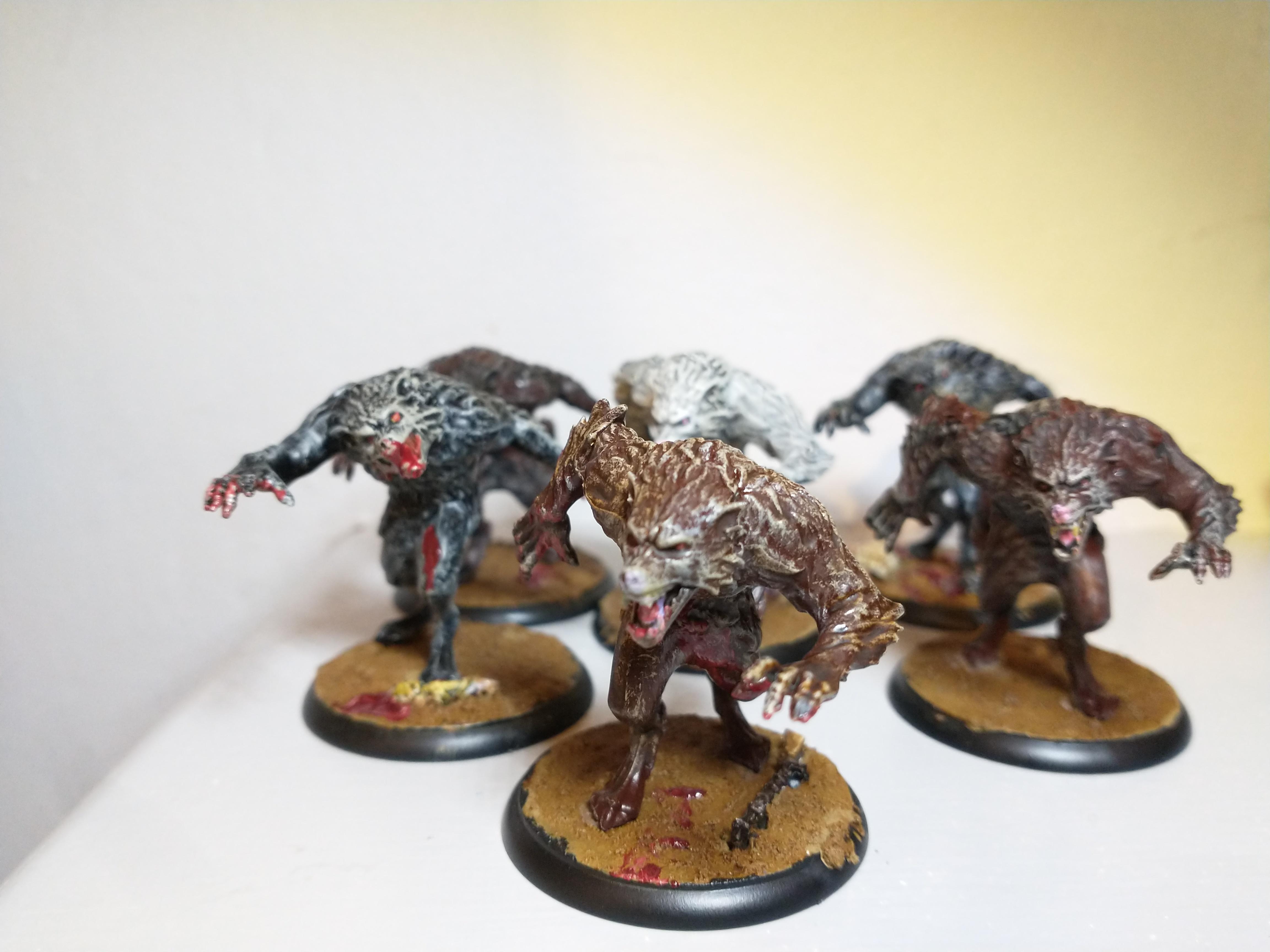 Werewolf Feral Kin