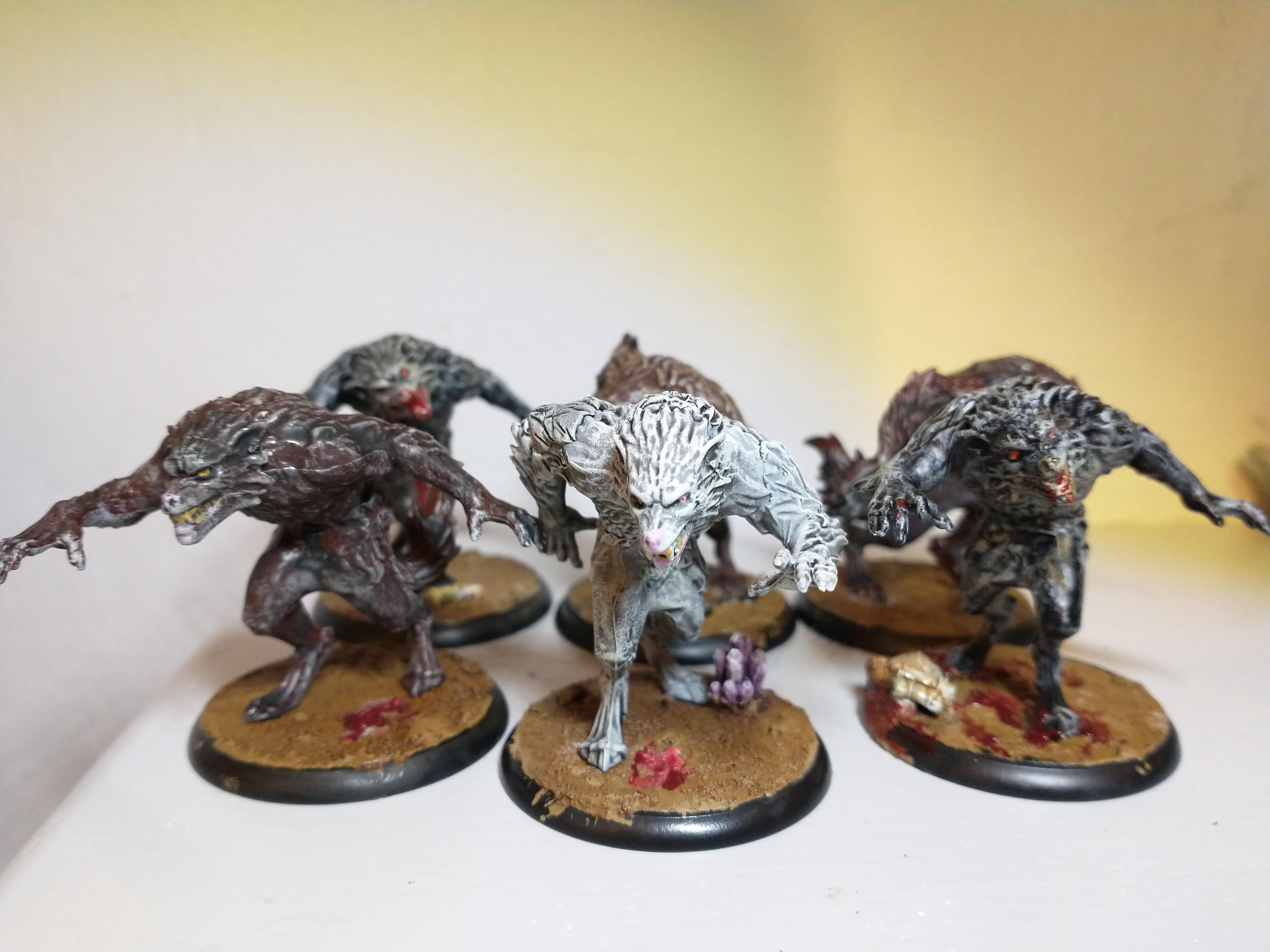 Werewolf Packmaster and Feral Kin