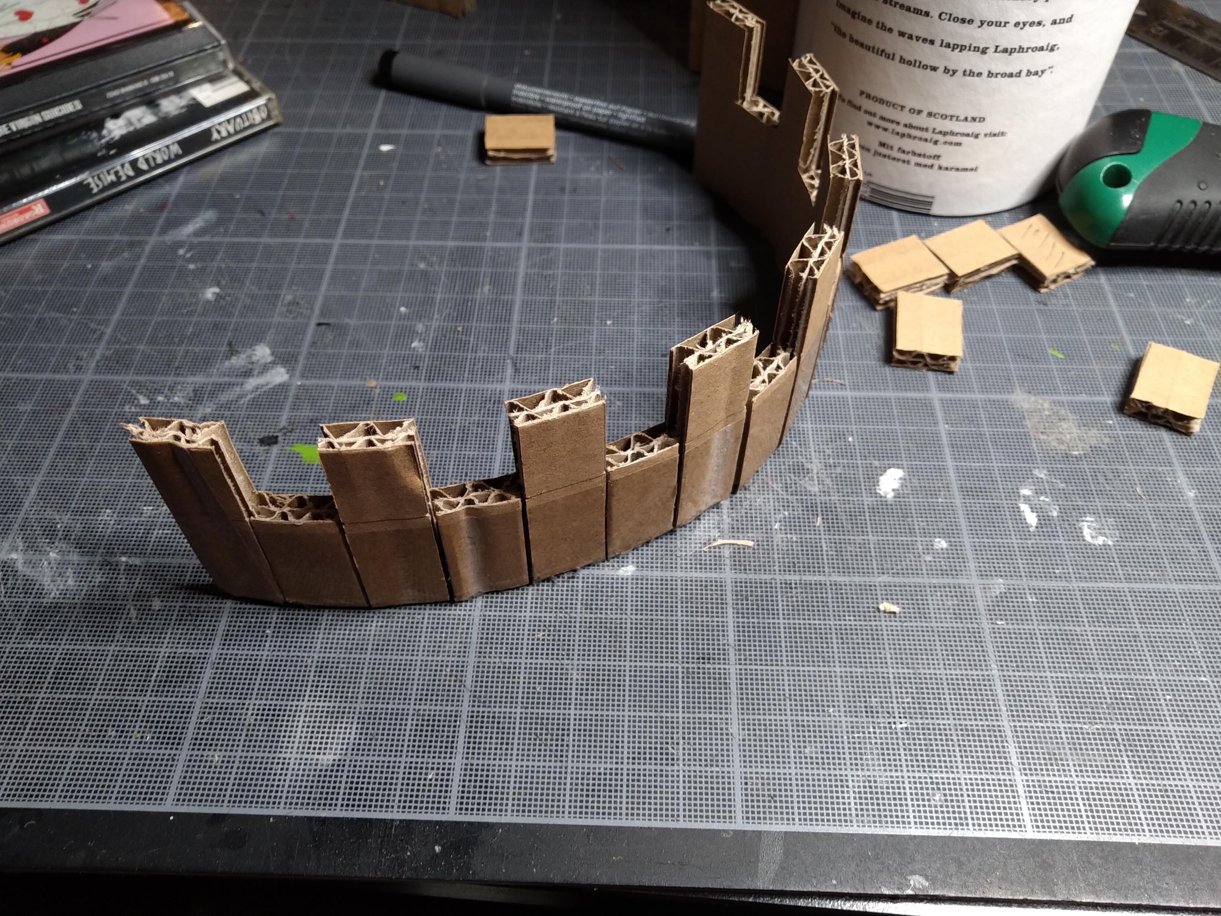 Castle, Terrain