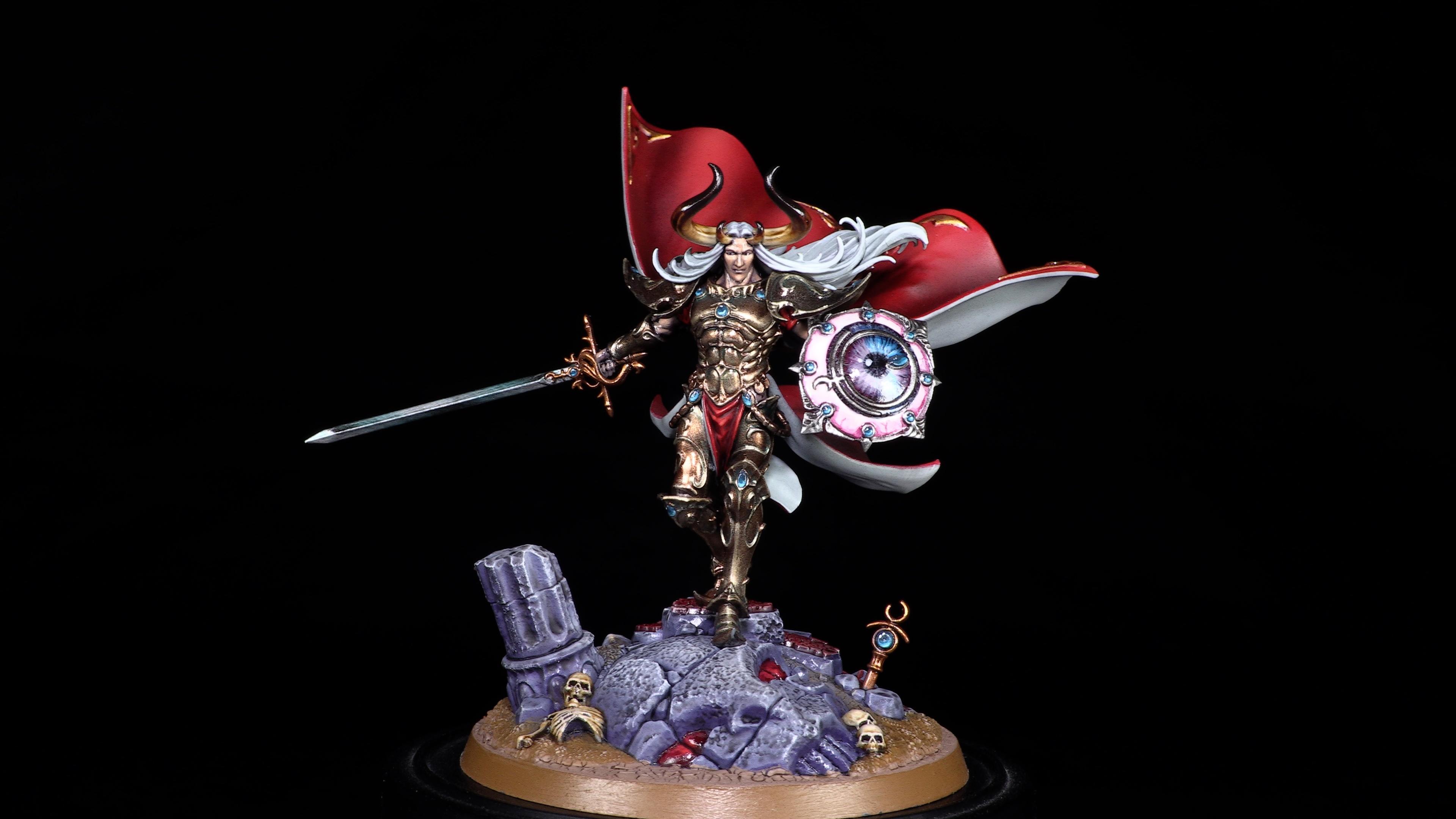 Age Of Sigmar, Hedonites Of Slaanesh, Prince Of Slaanesh, Sigvald, Warhammer Fantasy