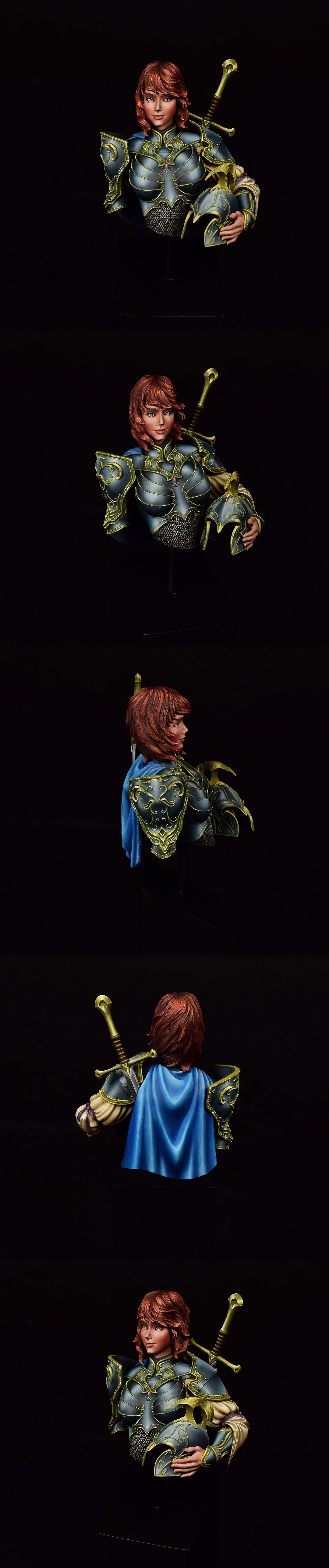 Excelsy, Female Knight, Non-Metallic Metal