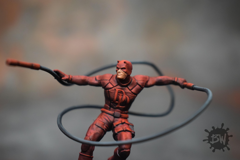 Amg, Atomic Mass Games, Bw, Daredevil, Marvel, Marvel Crisis Protocol