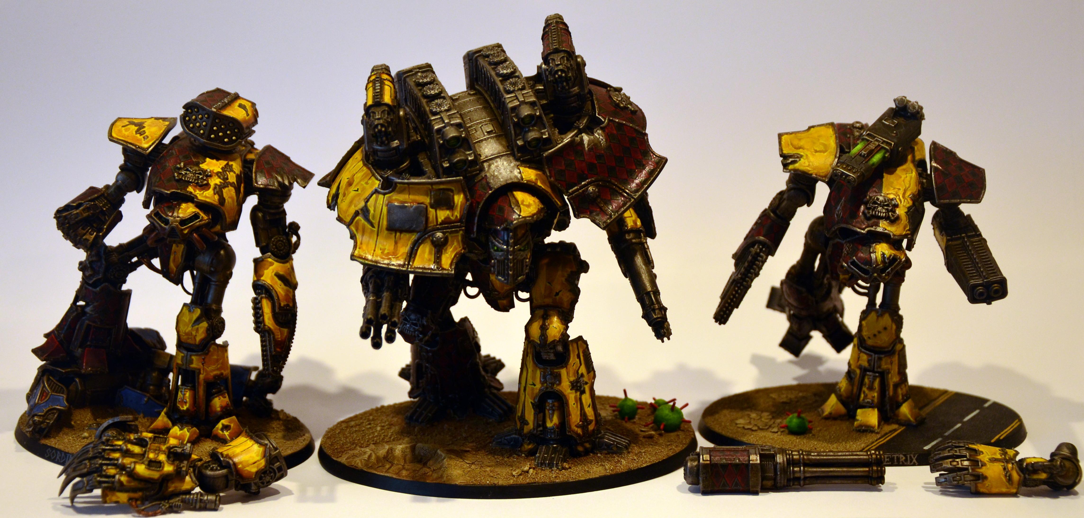 Adeptus Titanicus, Reaver, Titan, Warhammer 40,000, Warlord