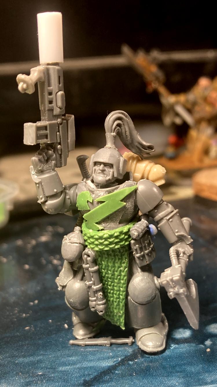 Greenstuff, Horus Heresy, Kit Bash, Thunder Warrior