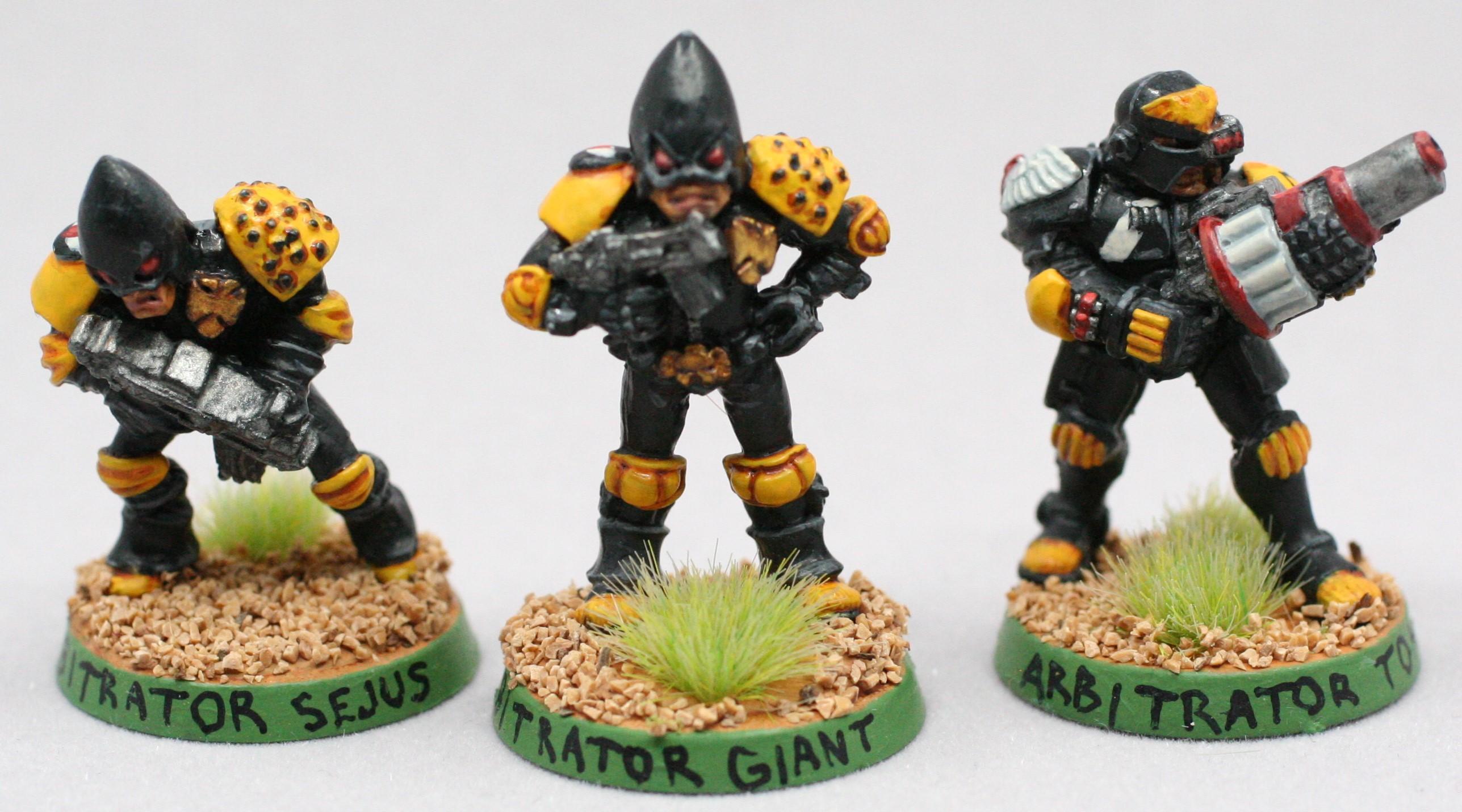 Adeptus Arbites, Judge Dredd, Rogue Trader, Wargames Foundry