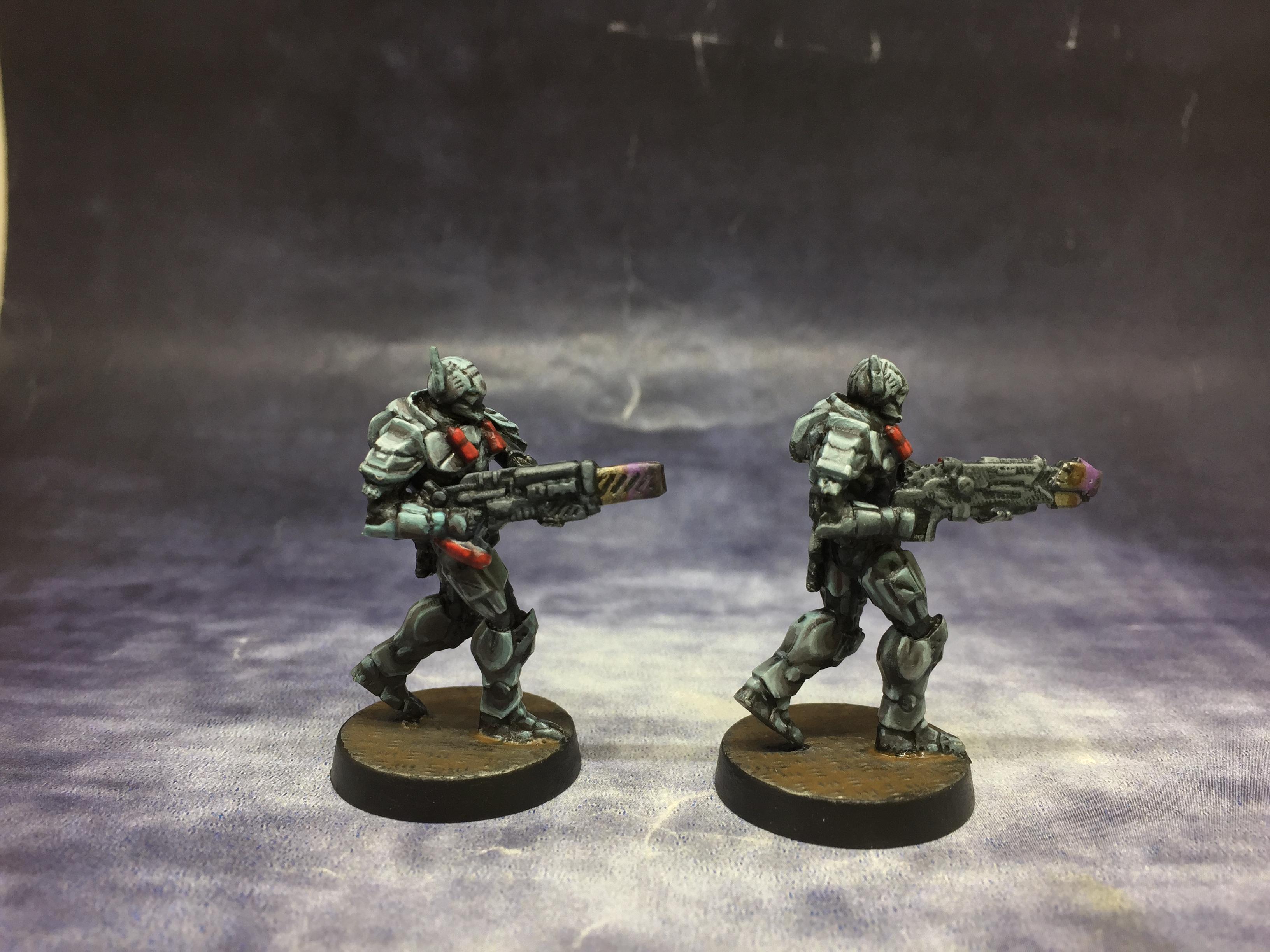 Deadzone, Enforcers, Mantic, March 2020, Non-Metallic Metal, Warpath