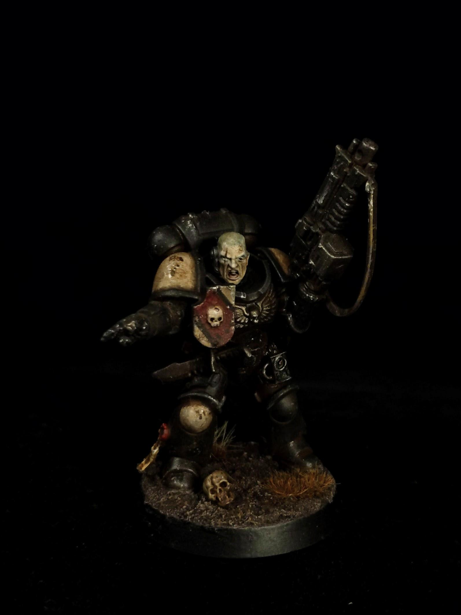 Black Templars, Grim Dark, Grimdark, Stubble, Turqouise