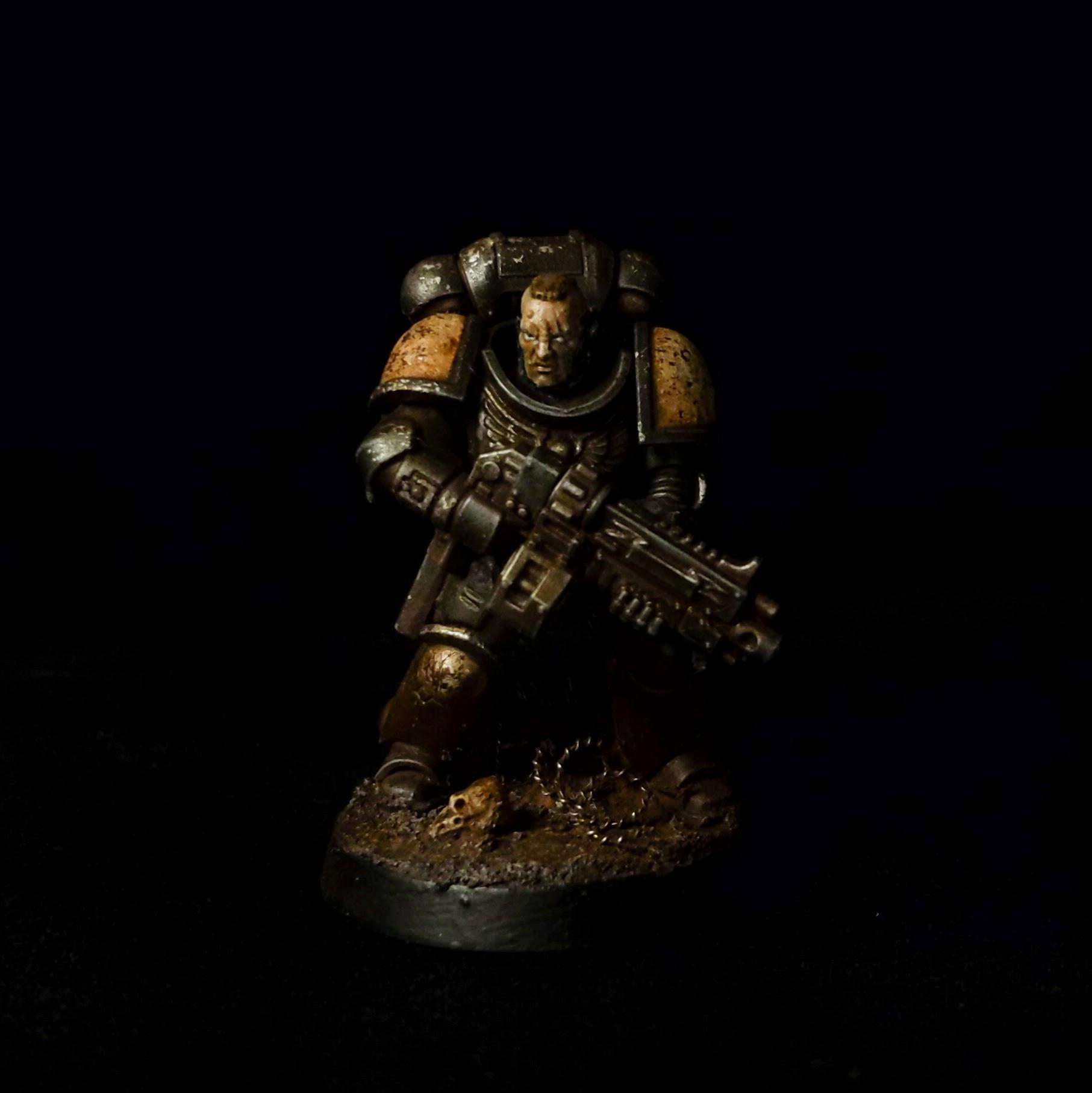 Black Templars, Blanchitsu, Grimdark