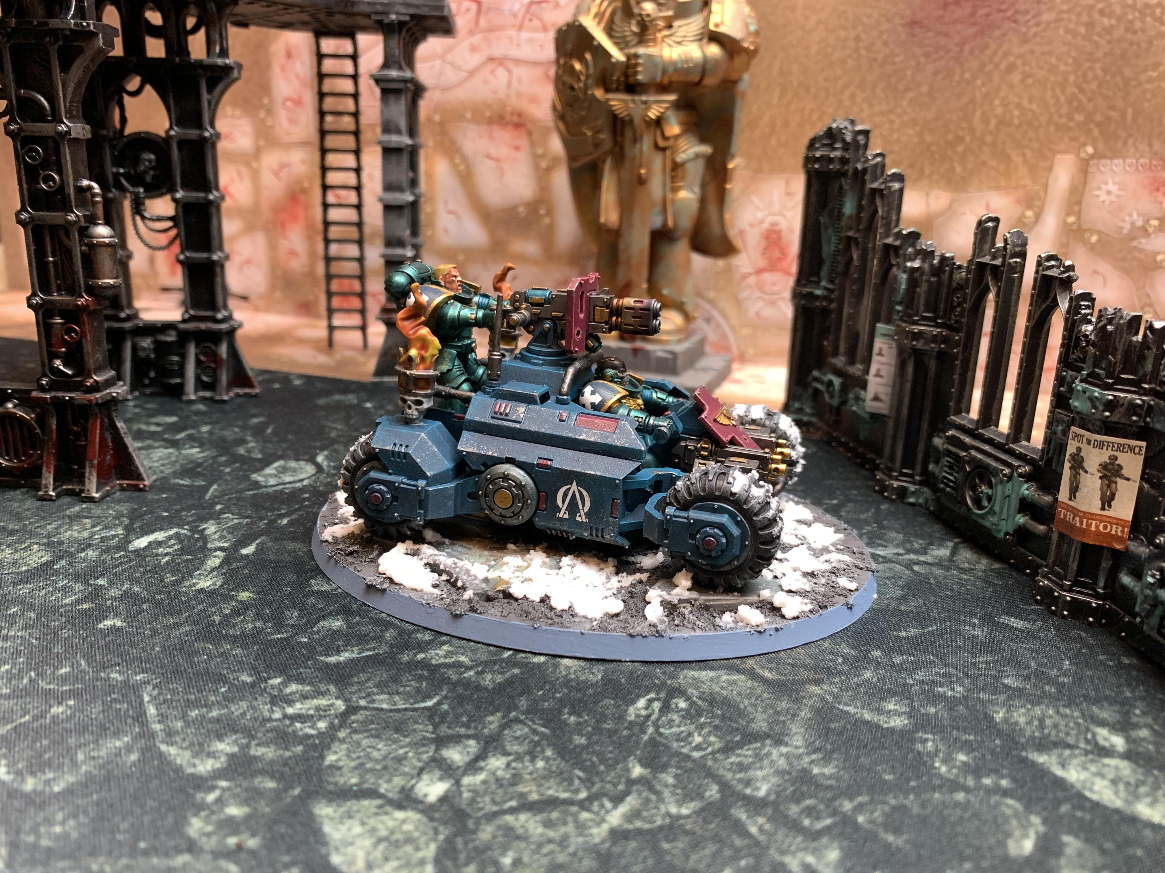 Invader Atv, Primaris, Space Marines