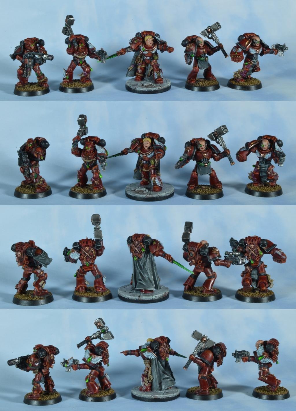 Knights Sanguine, Space Marines