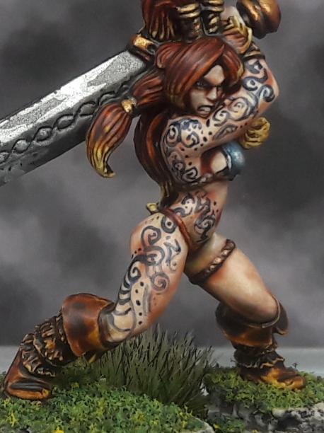 Barbarian, Celtos, Gael, Tatoos