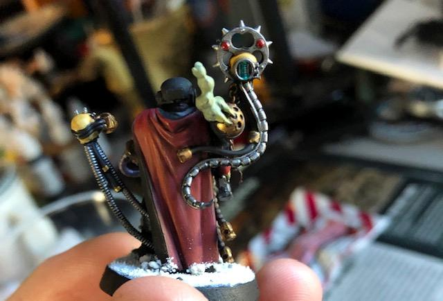 Imperial Guard, Inquisitor, Kitbash, Warhammer 40,000, Warhammer Fantasy