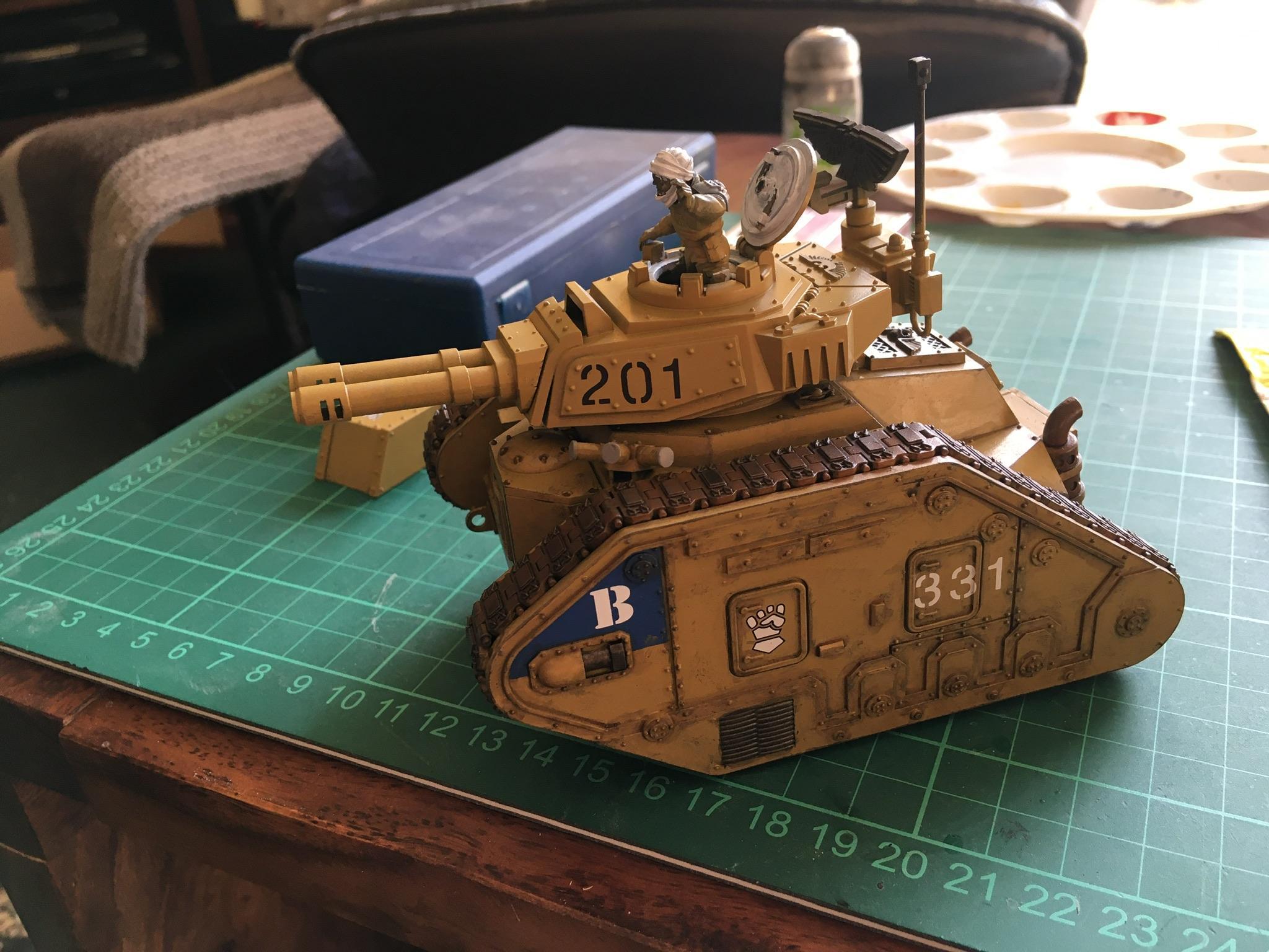 331st Regiment, Imperial Guard, Leman Russ, Tallarn Desert Raiders