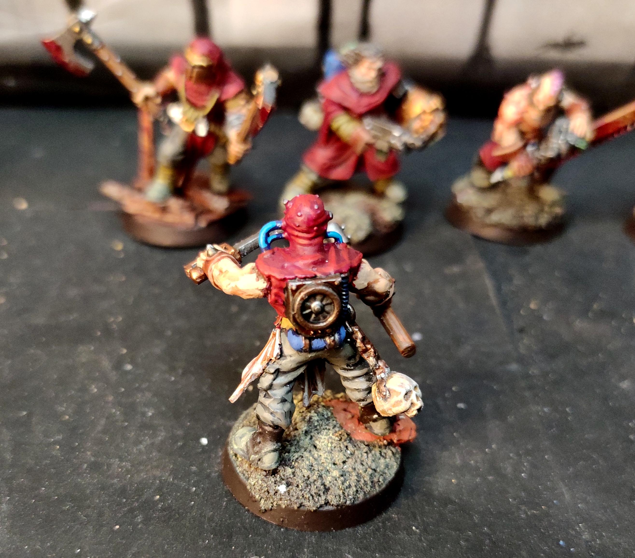 Berserk, Berserkers, Berzerker, Blood For The Blood God, Chaos, Chaos Cultists, Conversion, Cult, Cultists, Dark Vengeance, Heresy, Heretics, Khorne, Kitbash, Lost And The Damned, Regiment, Renegade, Skulls For Skull Throne, Warhammer 40,000