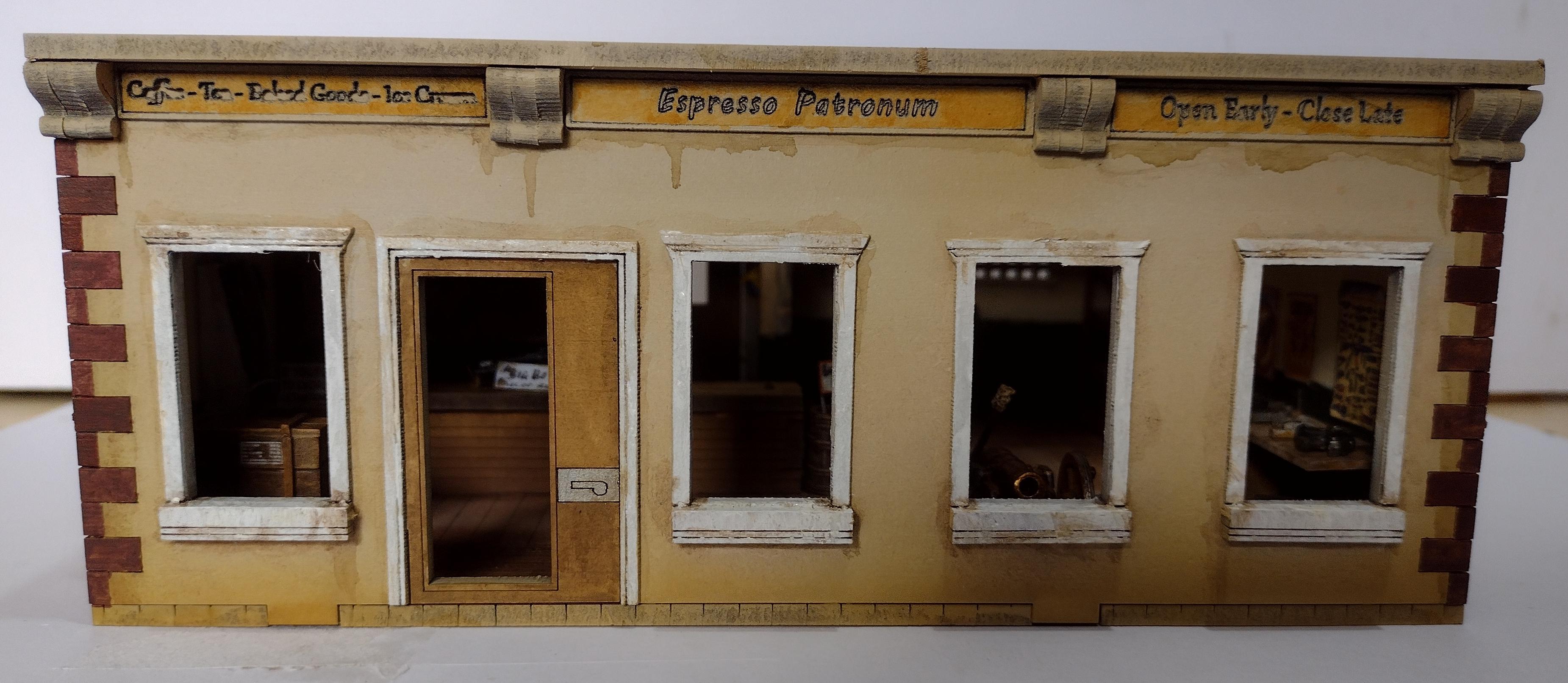 Coffee, Gun Shop, Post-apoc