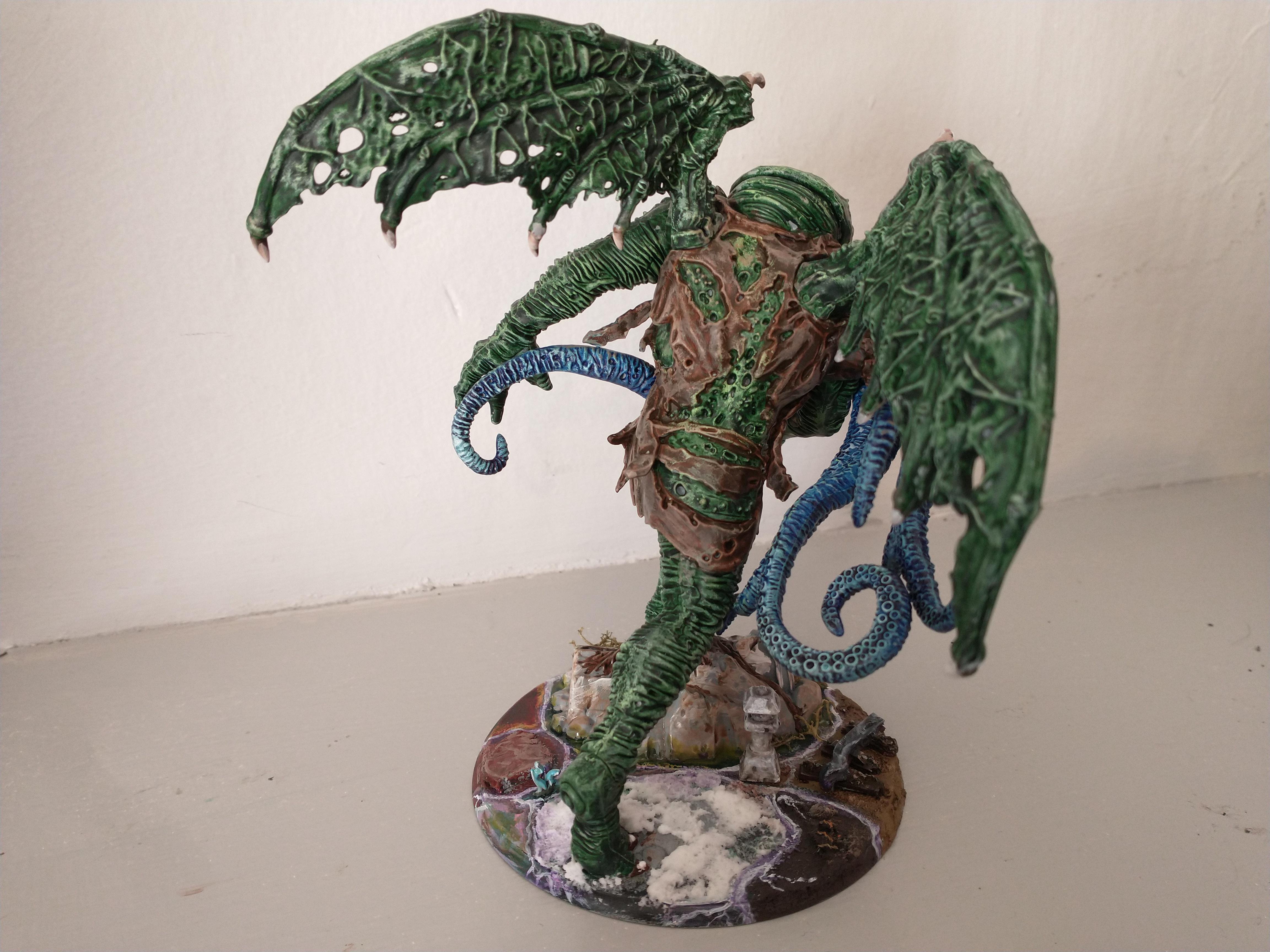 Great Cthulhu, the Ancient One rear