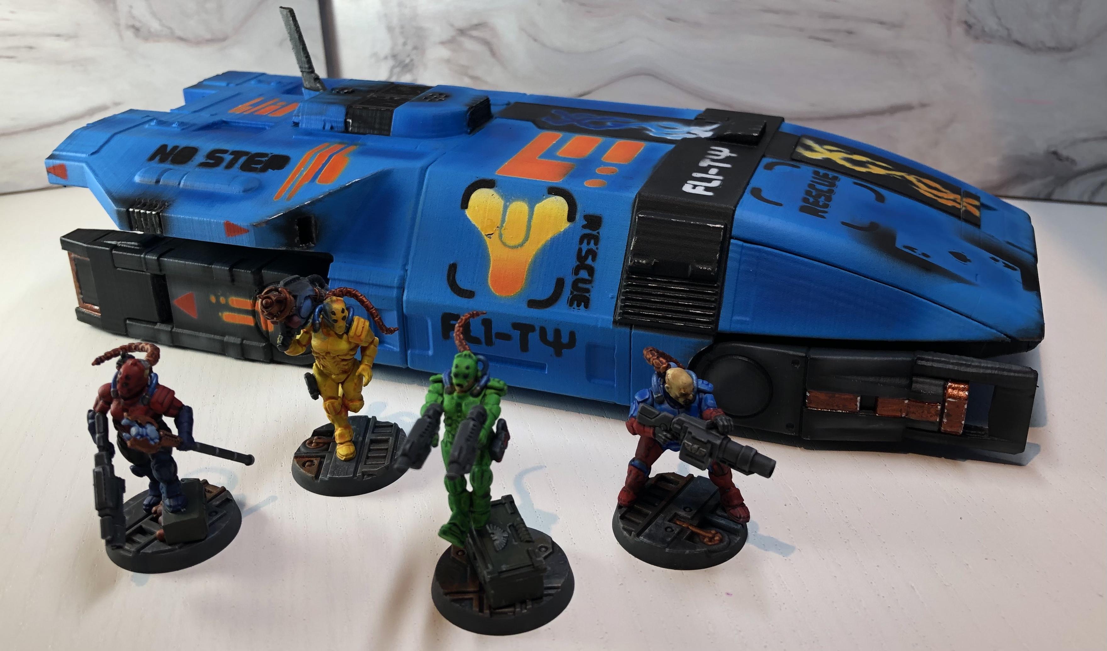 5 Parsecs, Kodiak, Mass Effect, Prusa