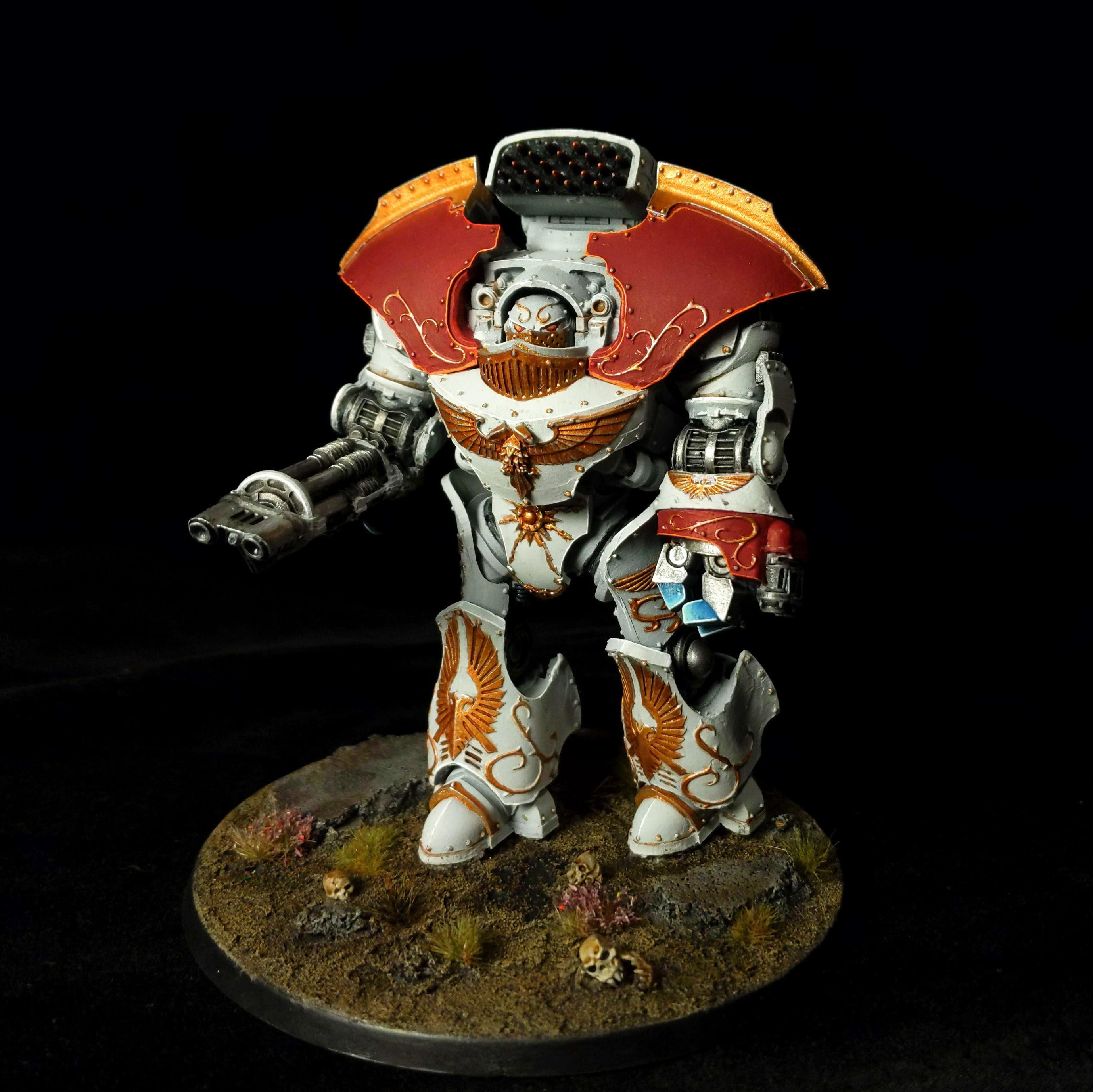 Custodes, Dreadnought, Solar Watch, Telemon