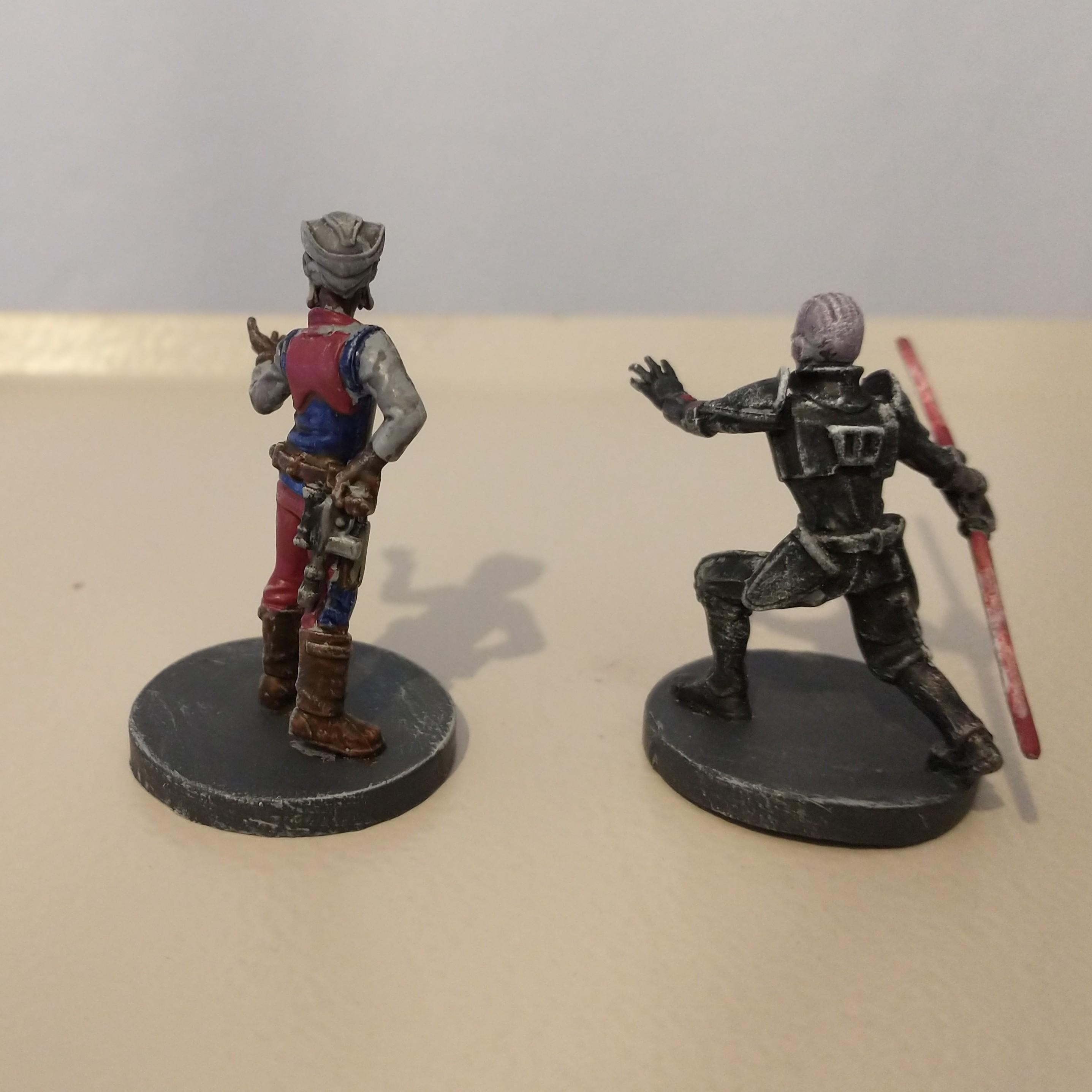 Hondo Ohnaka and The Grand Inquisitor rear