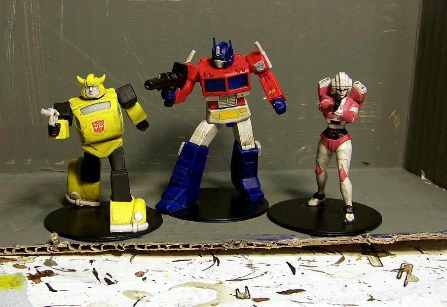 Transformers, Wizkids