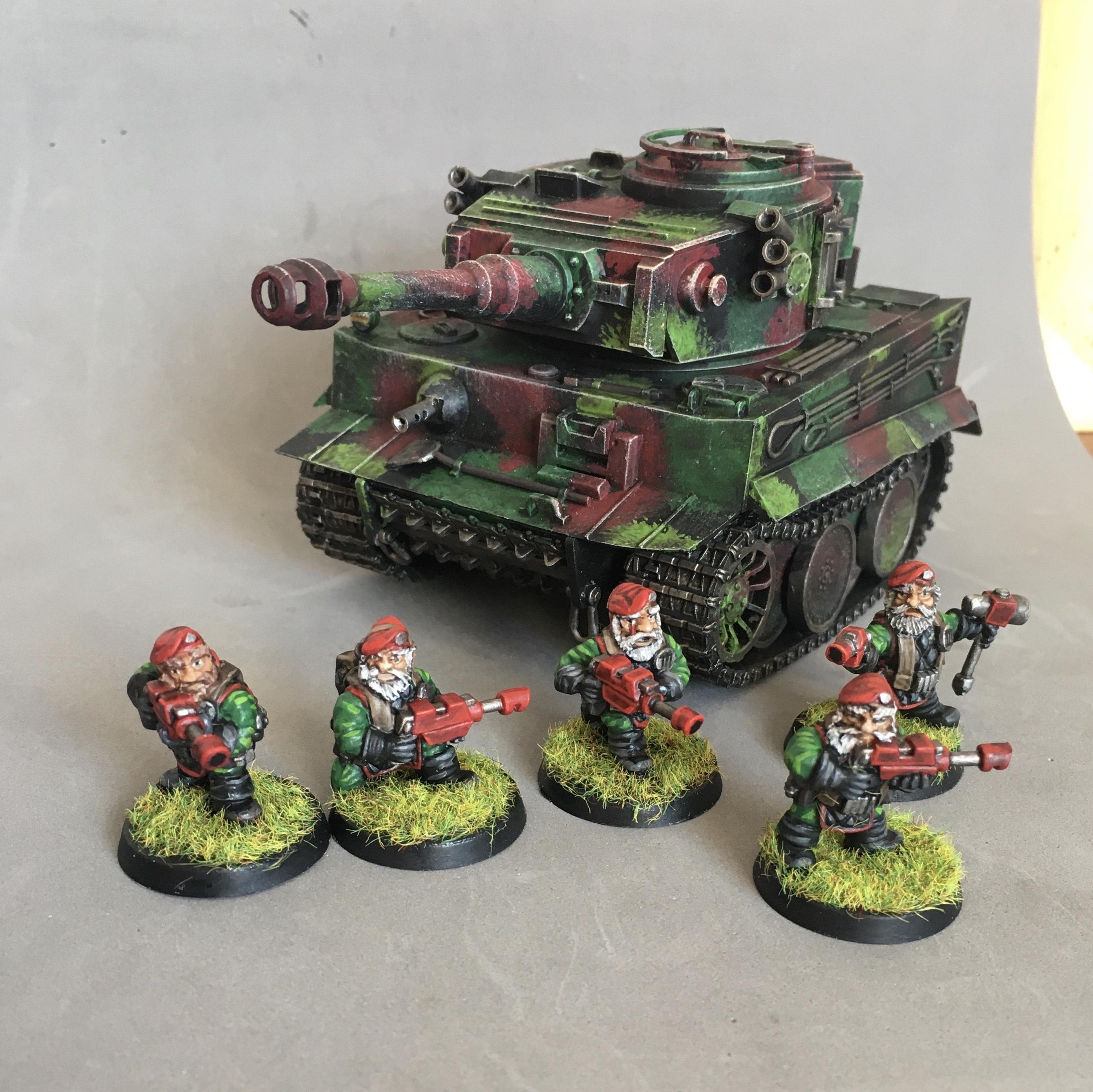 Inso, Panzer, Squats, Tank, Tiger
