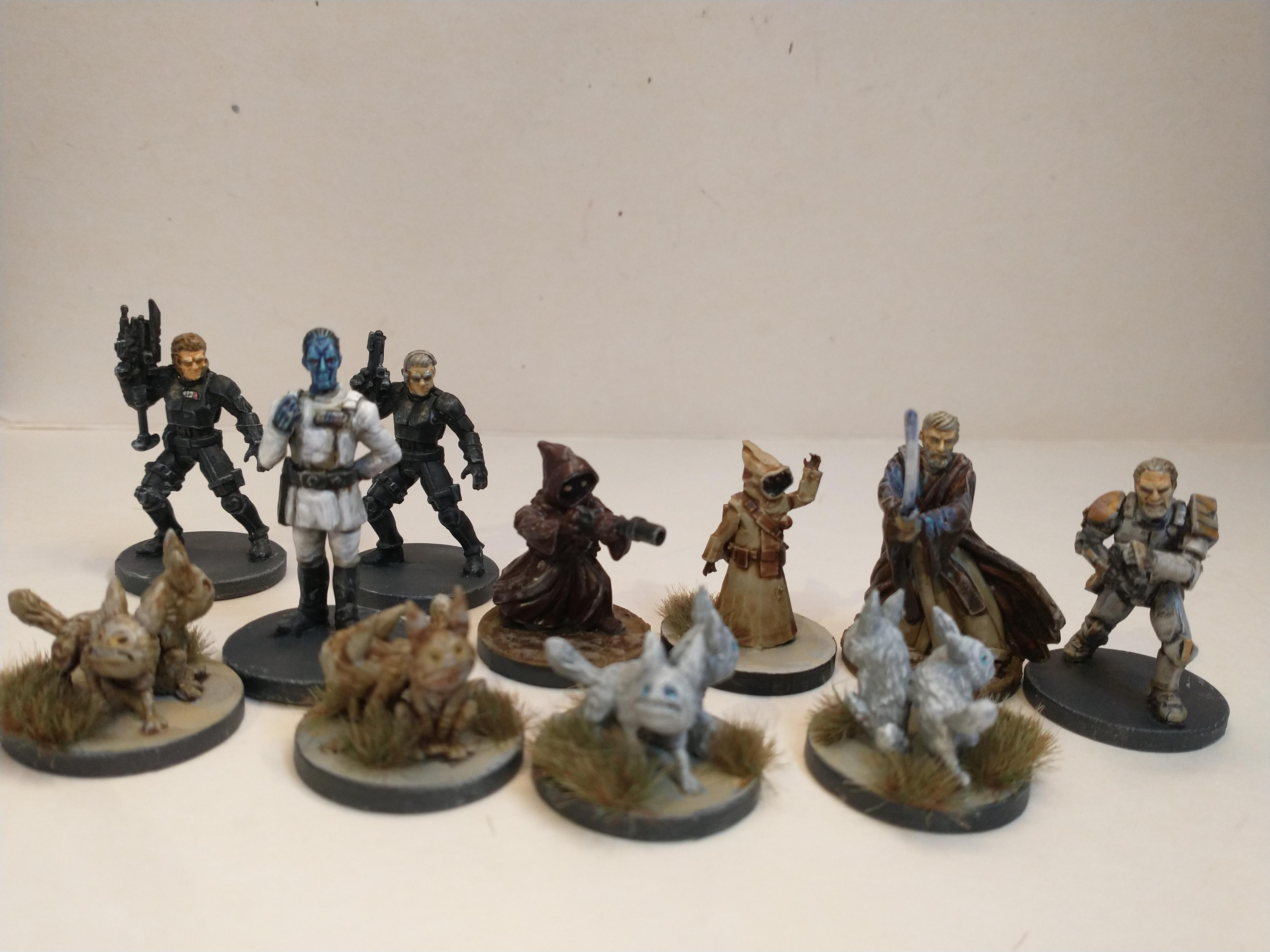 Imperial Assault Lothal push 1