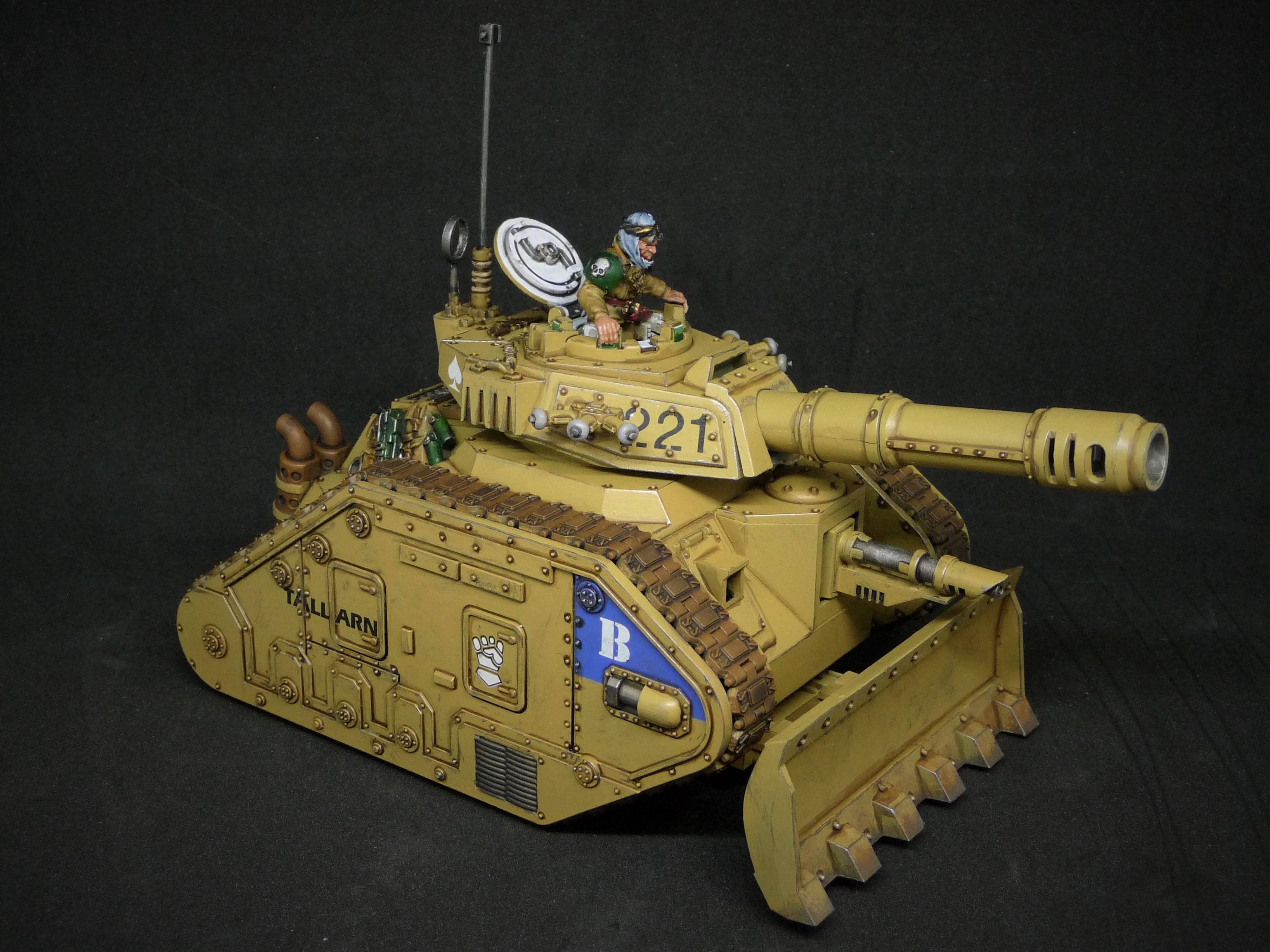 2nd Armoured Company, 331st Regiment, Leman Russ Tank, Second Squad Leader, Tallarn Desert Raiders, Vanquisher