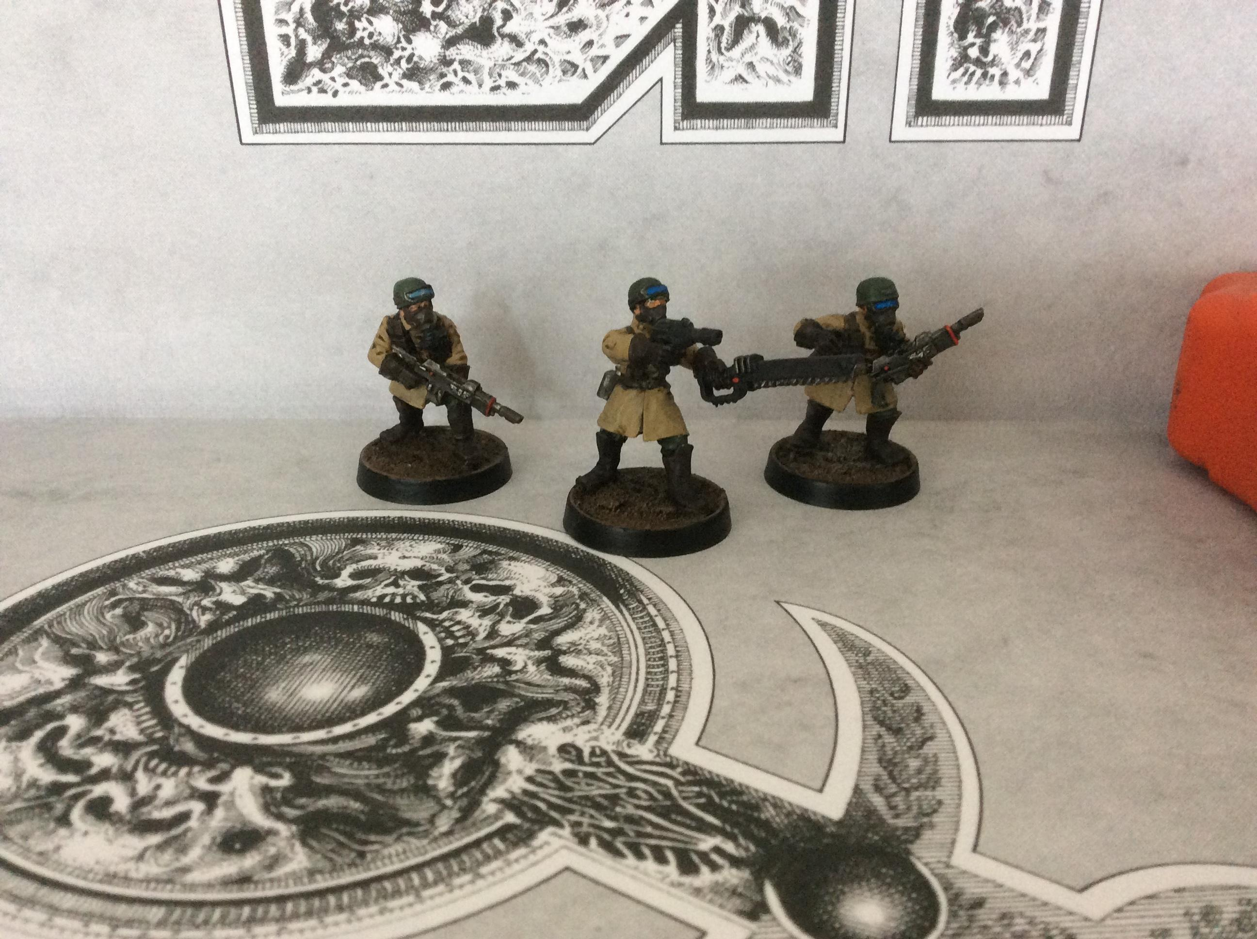 Astra Militarum, Imperial Guard, Steel Legion, Warhammer 40,000