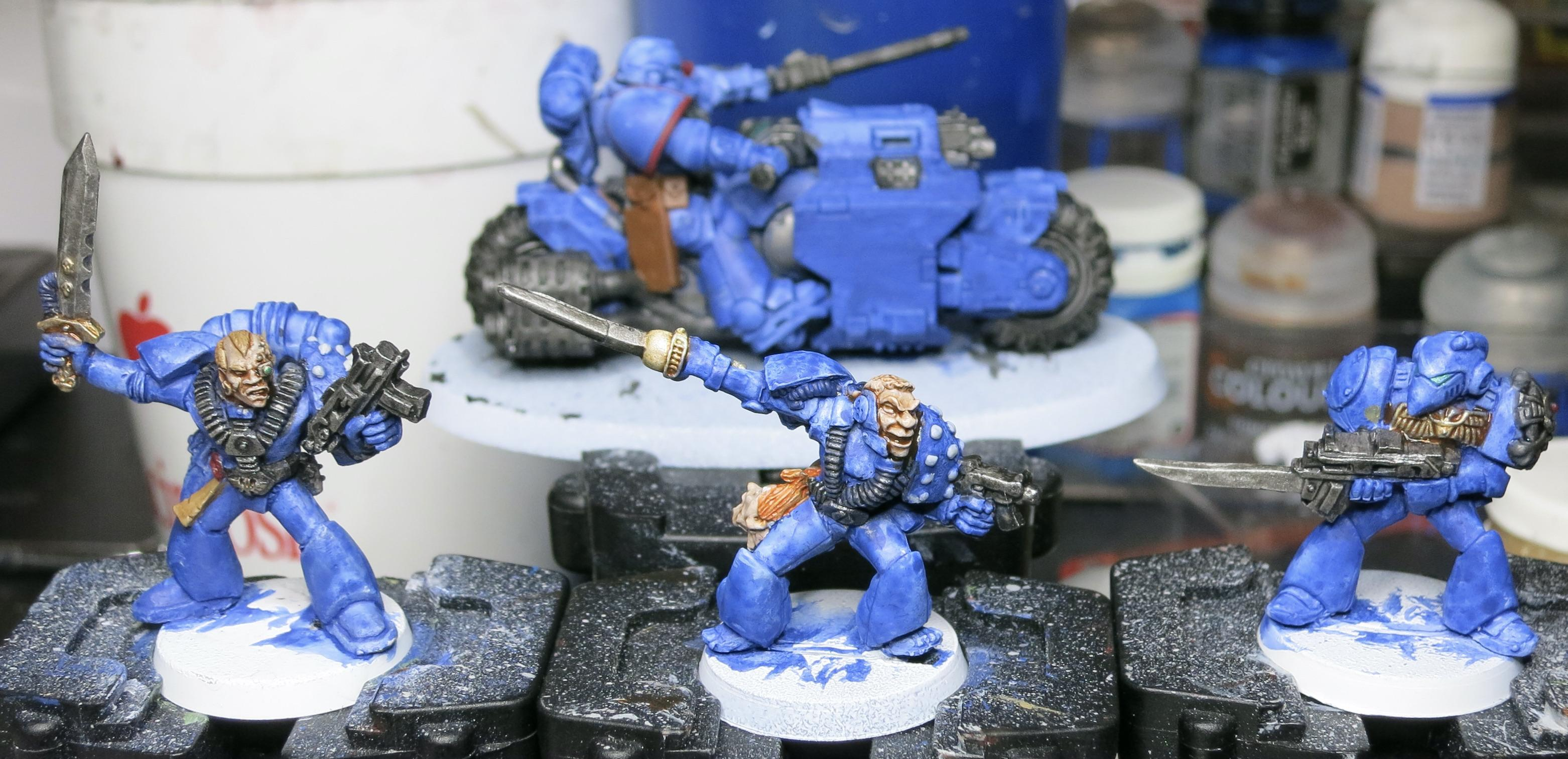 Oldhammer, Rogue Trader, Space Marines