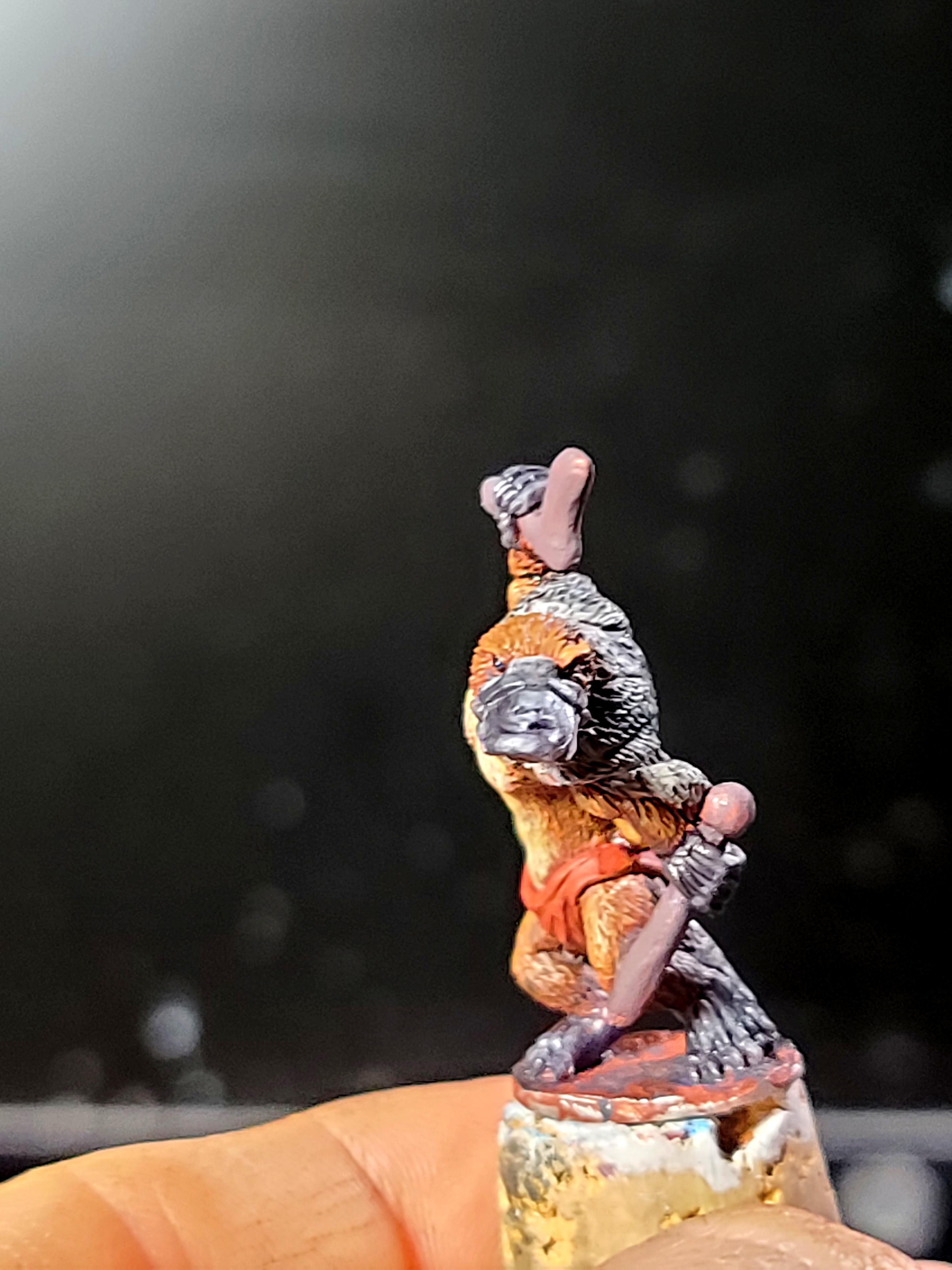 Oathsworn Miniatures, Platypus, Warriors, Work In Progress