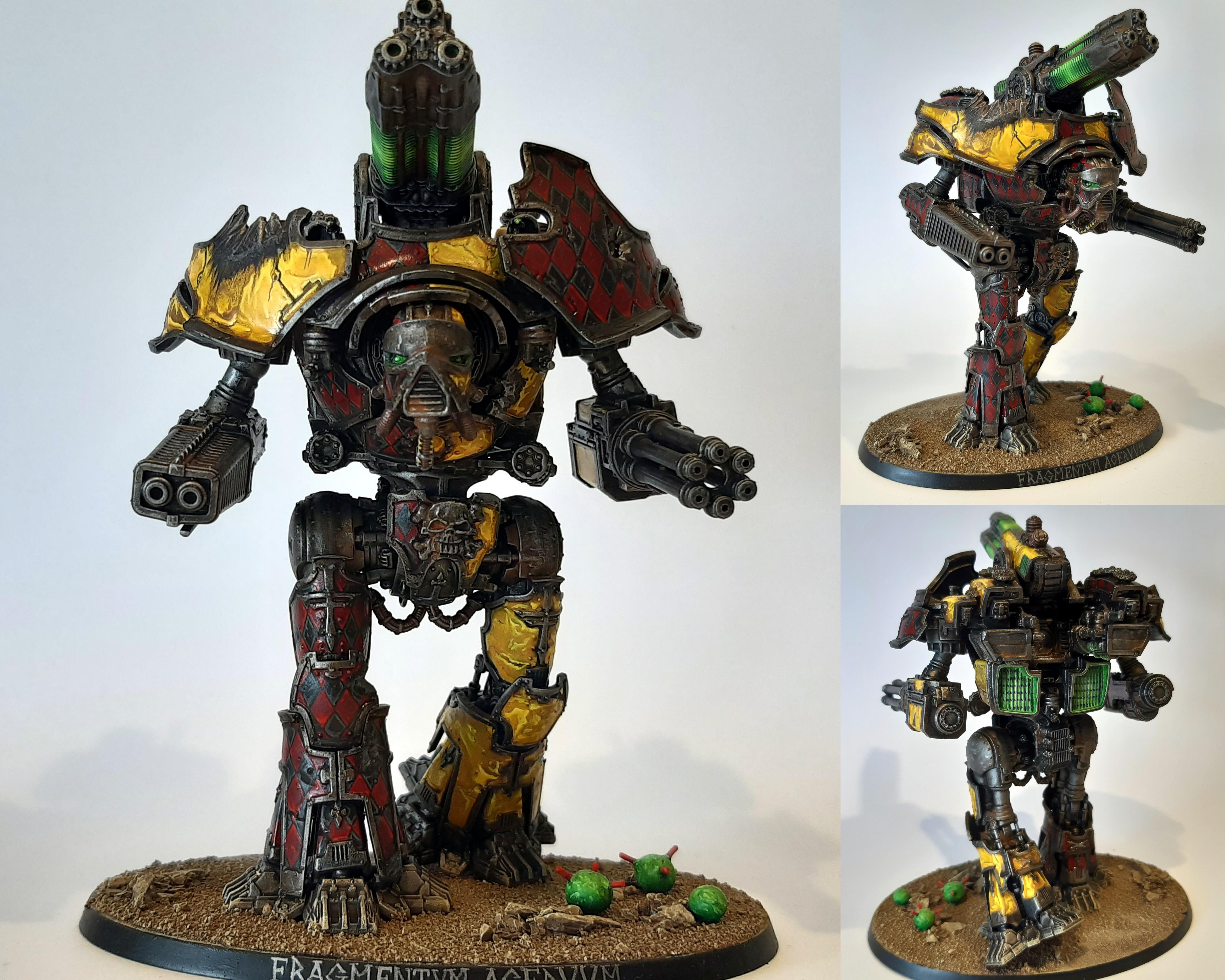 Adeptus Titanicus, Nemesis, Titan, Warbringer, Warhammer 40,000