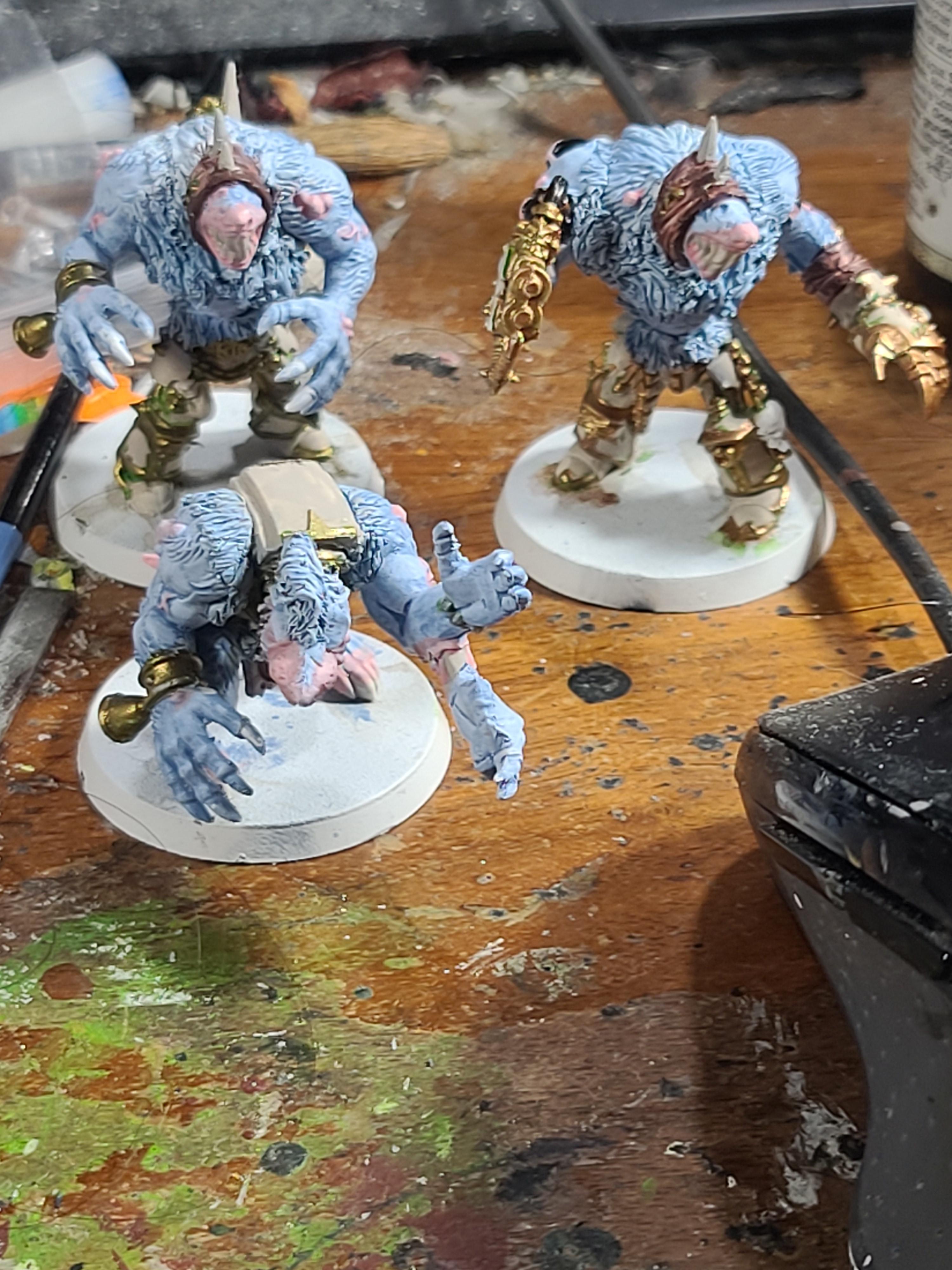 Chaos, Chaos Space Marines, Games Workshop, Rat, Rat Ogre, Skaven, Terminator Armor