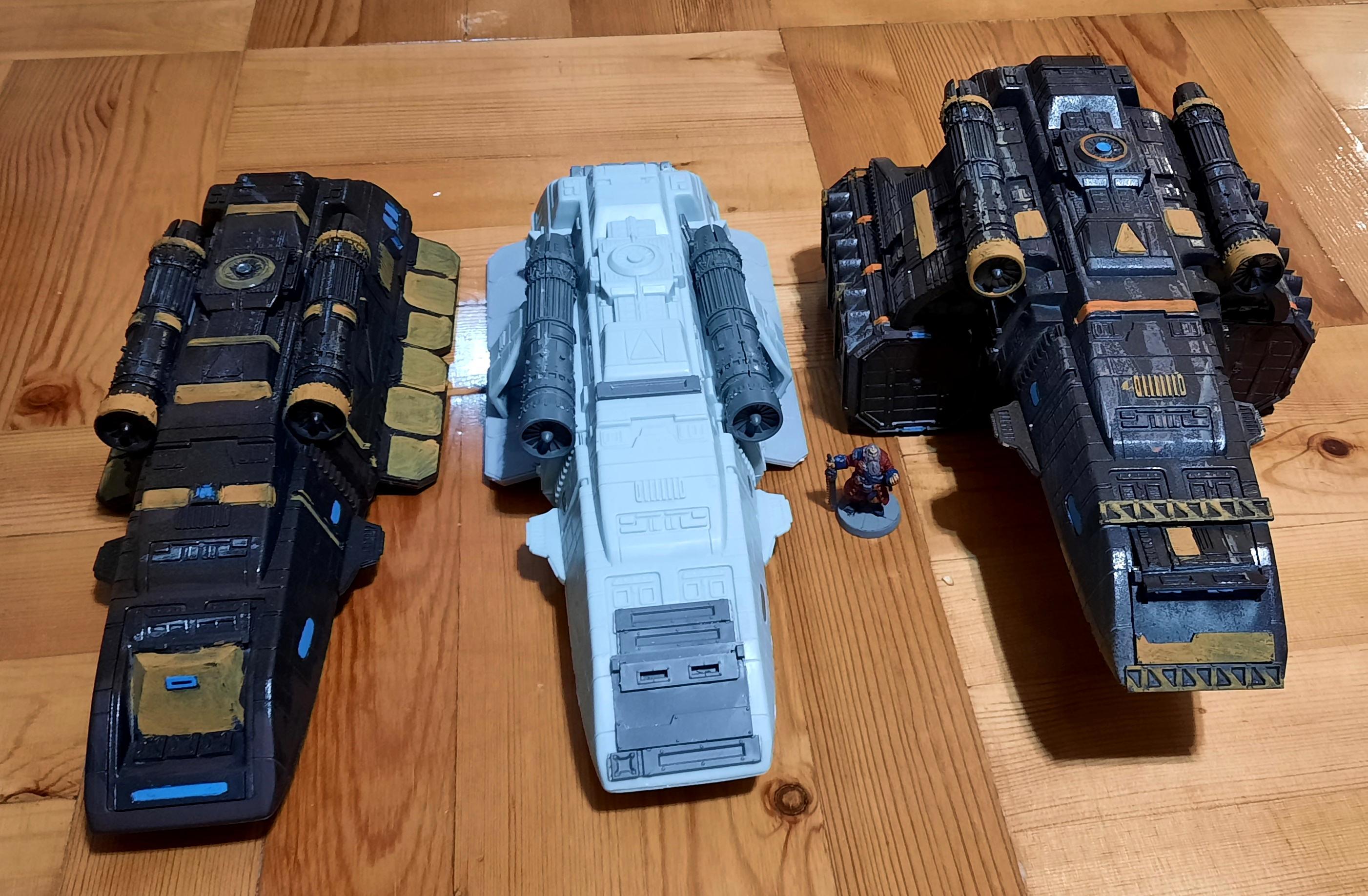 Cargo, Runabout, Shuttle, Star Trek