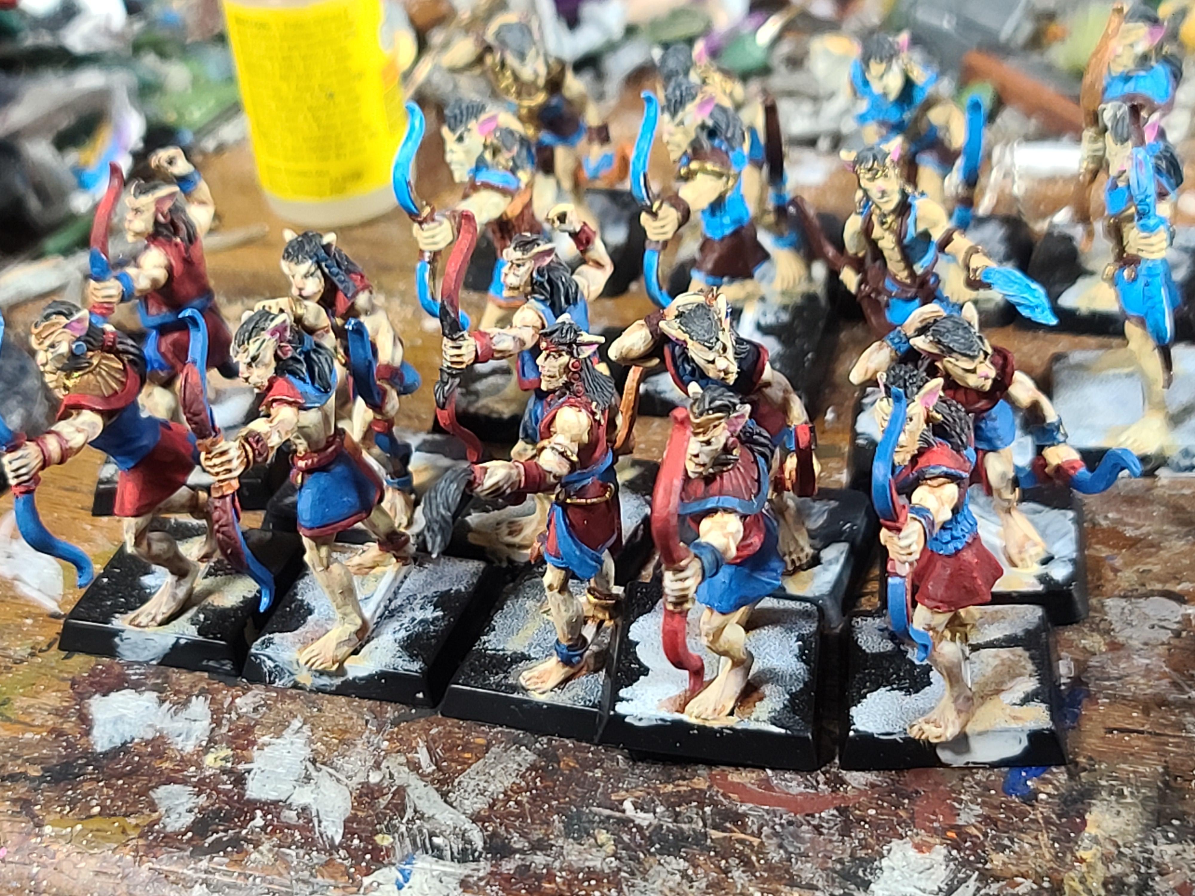 Archers, Basti, Crocodile Games, War Gods Of Aegytpus