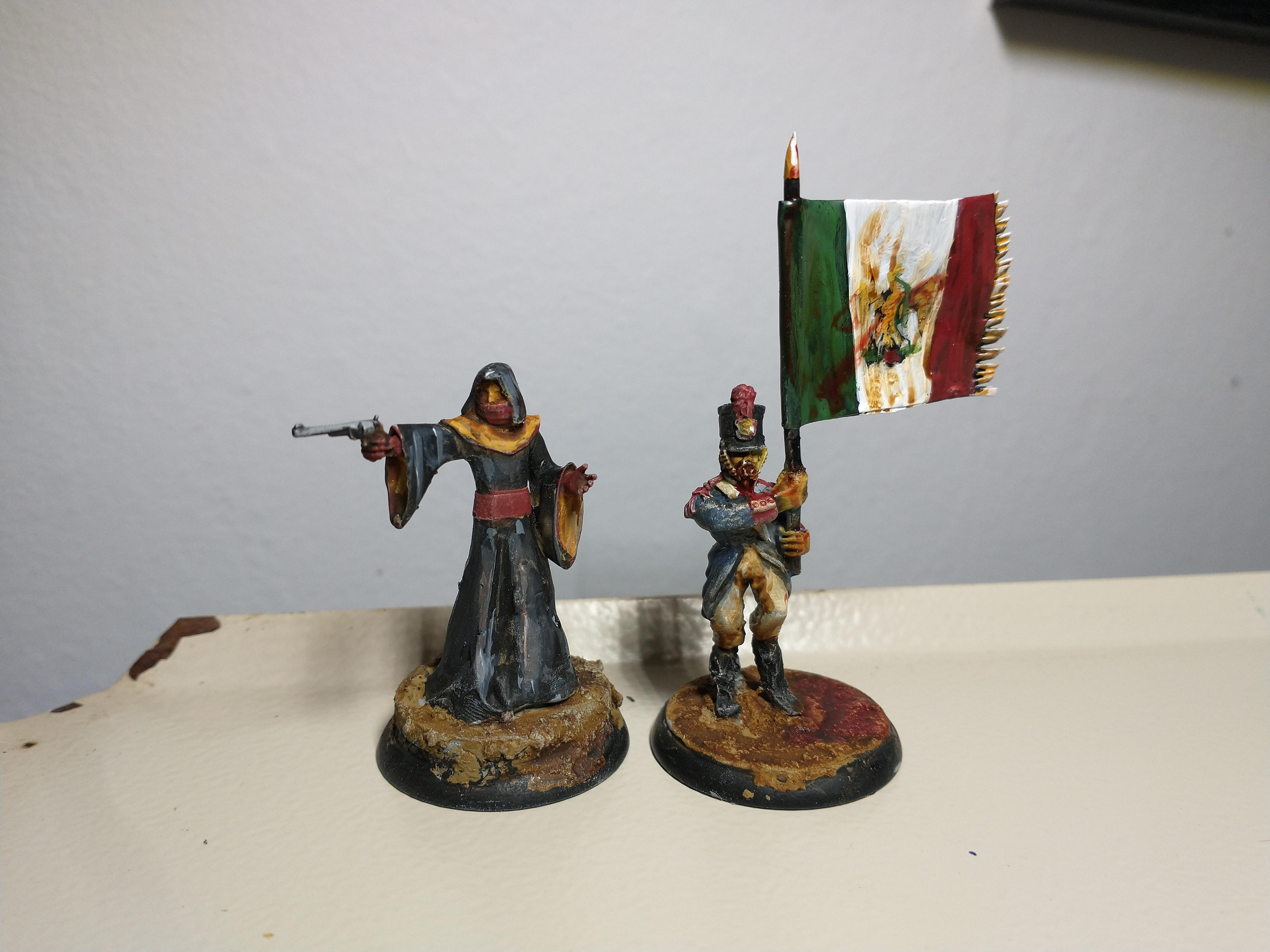 Inquisitor and Zombie Mexican