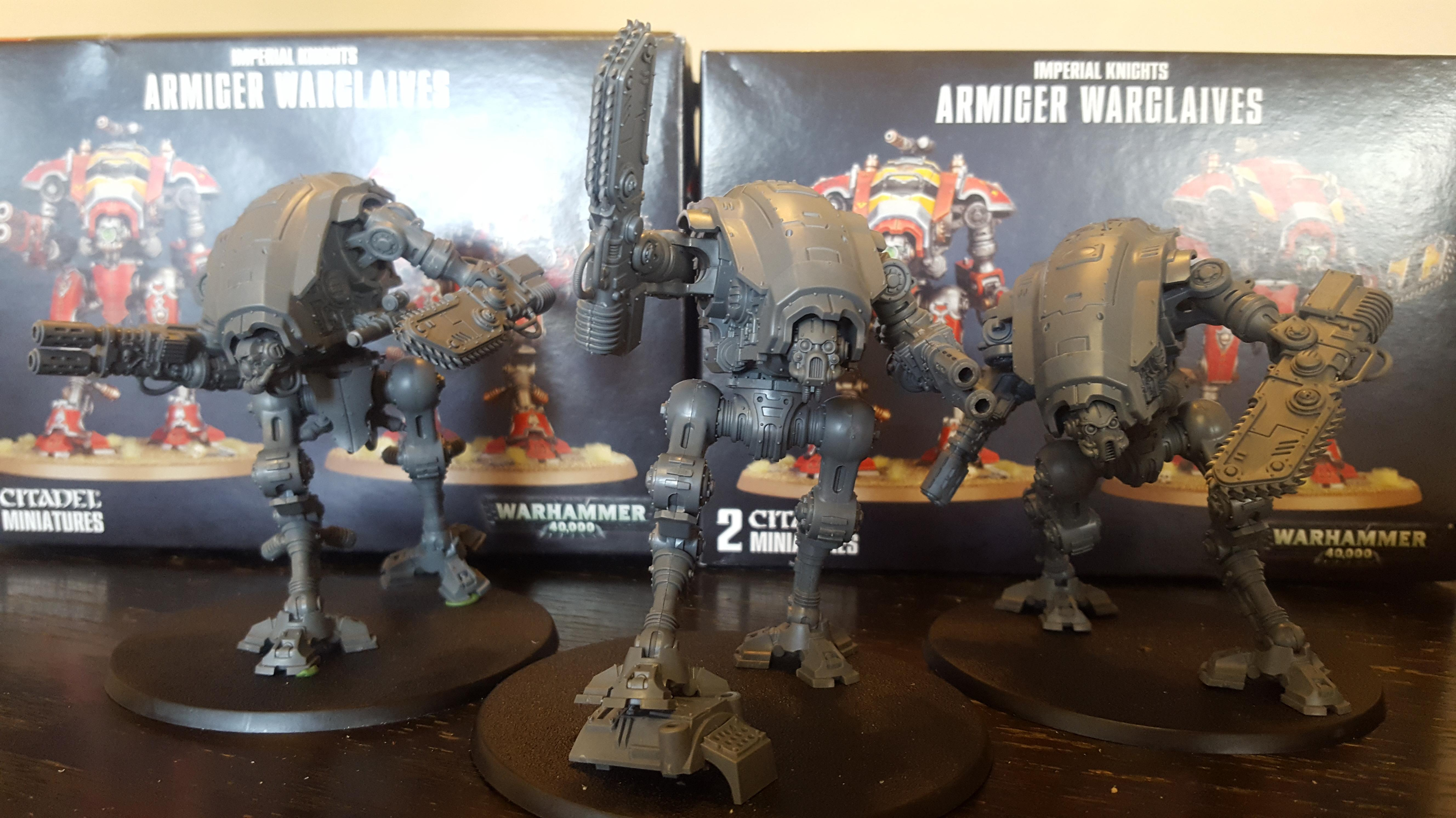 Armiger, Cool, Dynamic, Imperial Knight, Pose, Warglaive