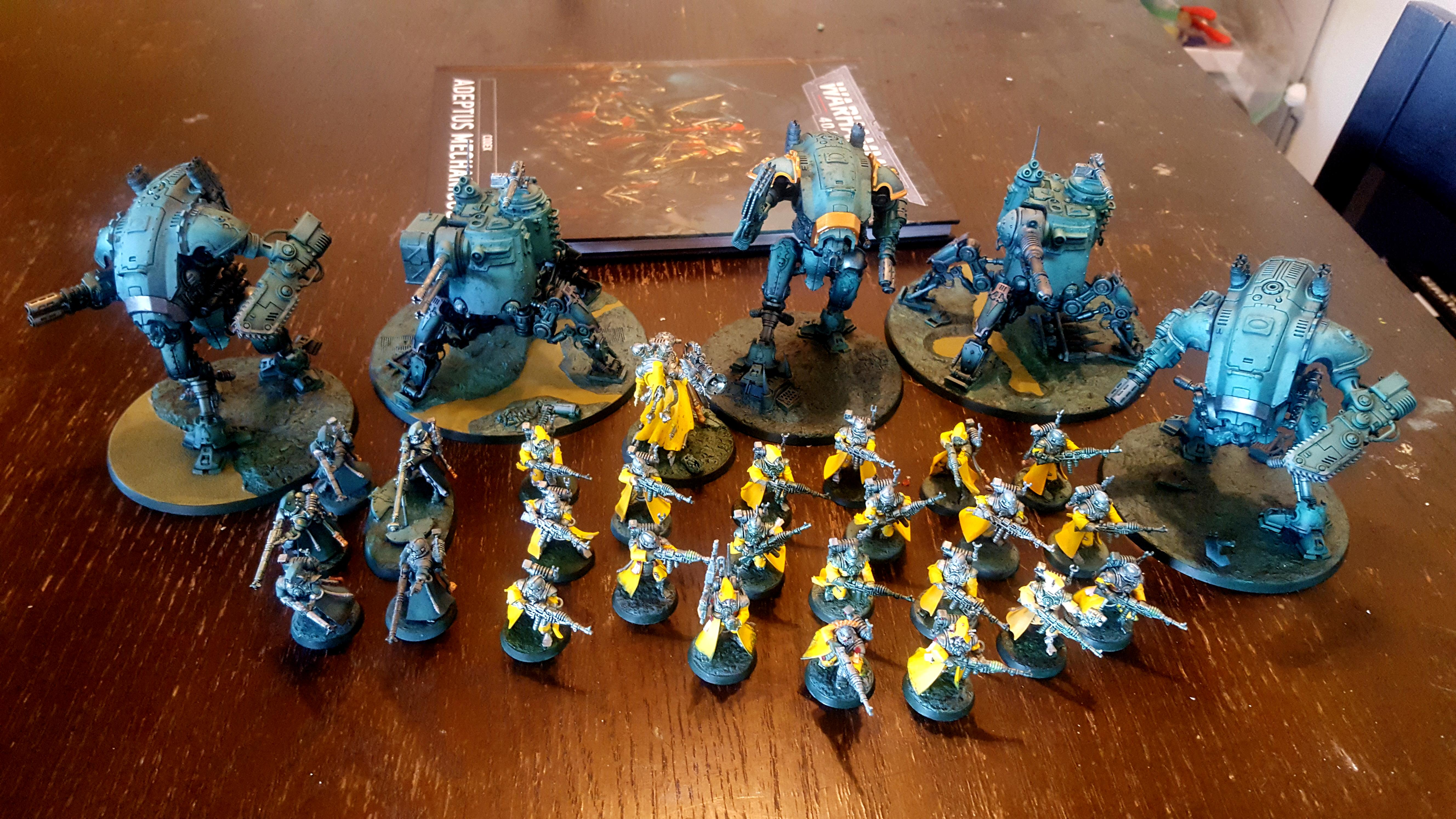 Armiger, Battle Ready, Cool, Crusade, Dynamic, Imperial Knight, Imperial Knights, Pose, Warglaive