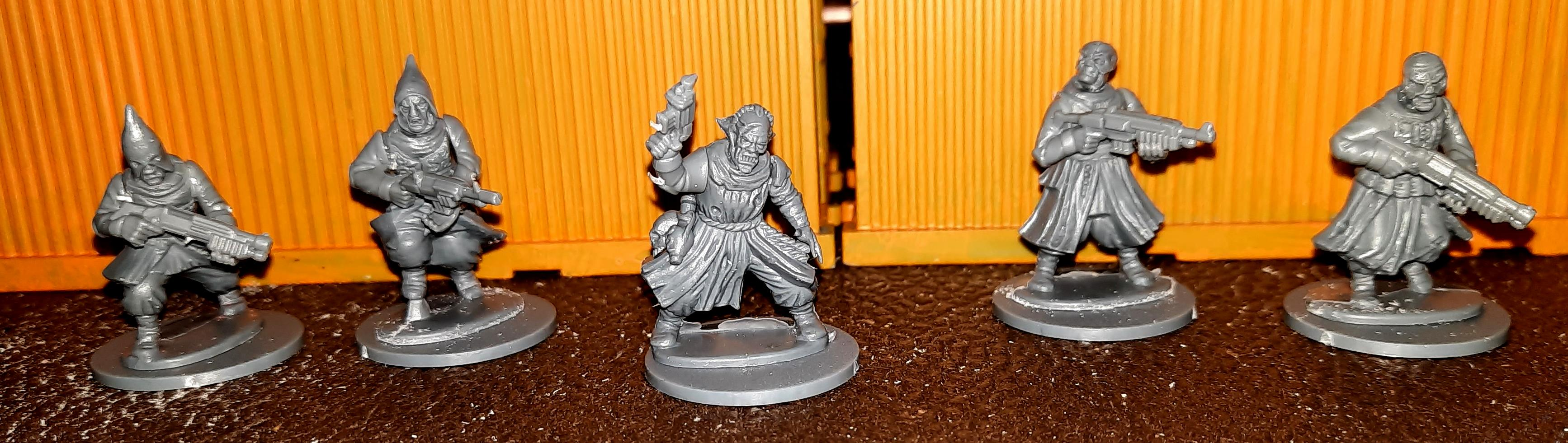Crew, Cultists, Frostgrave, Stargrave
