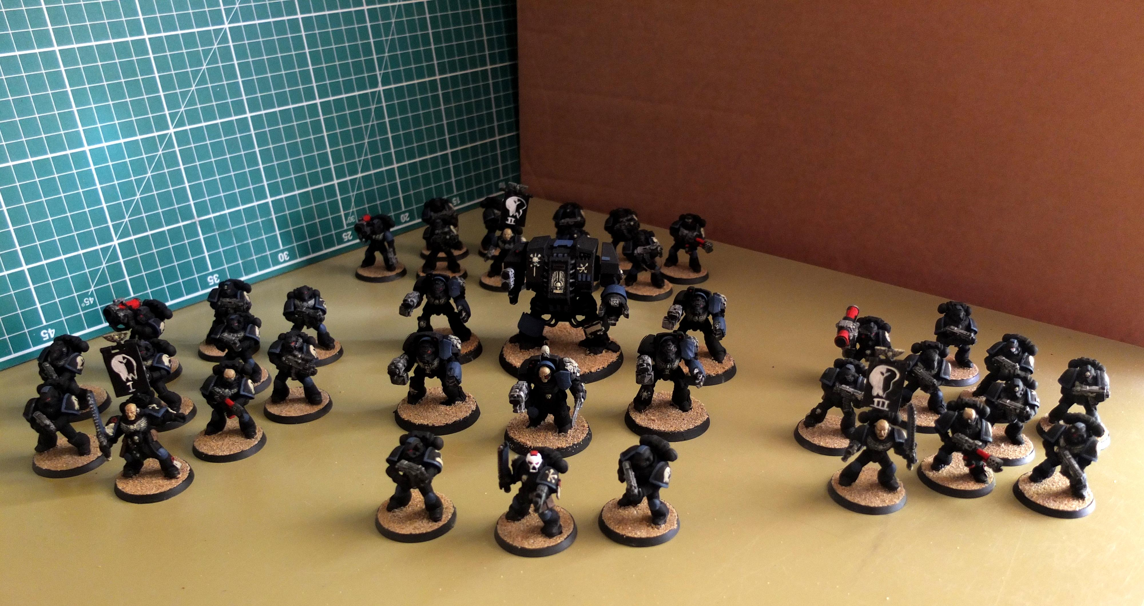 Malal, Rebel, Space Marines, Tactical Squad, Warhammer 40,000